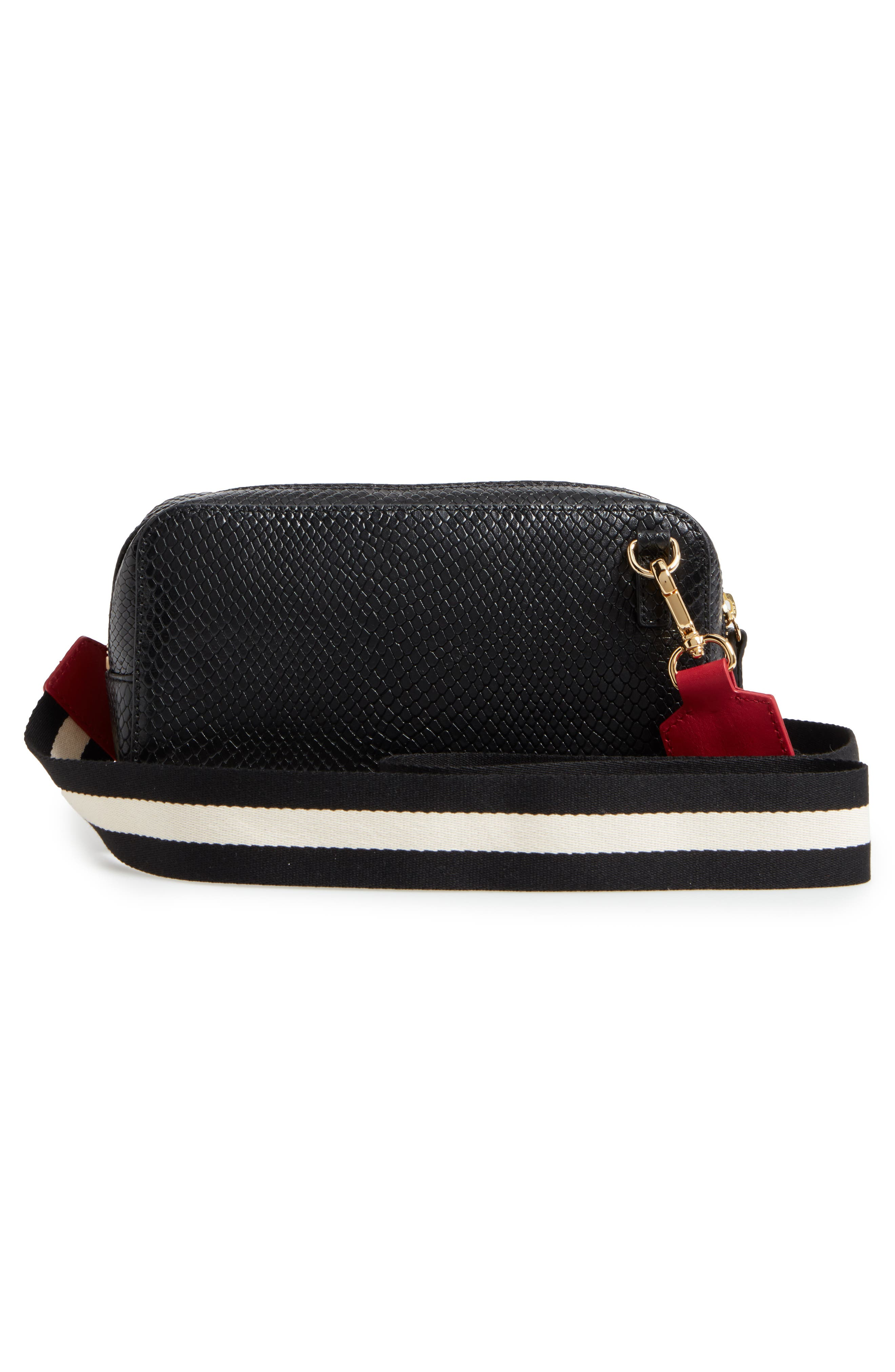 Alternate Image 2  - Frances Valentine Snakeskin Embossed Leather Crossbody Bag