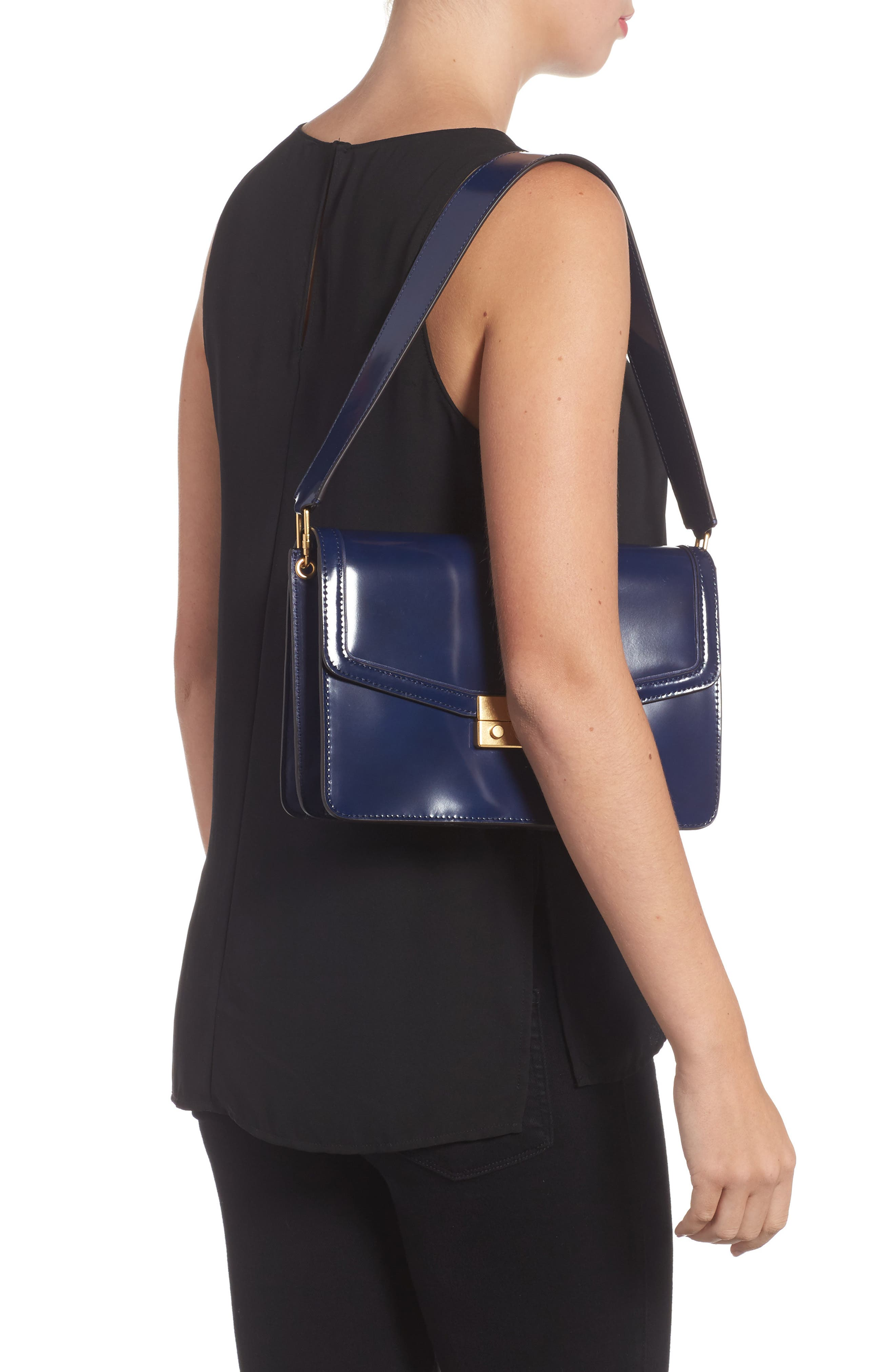 Alternate Image 2  - Tory Burch Juliette Leather Shoulder Bag