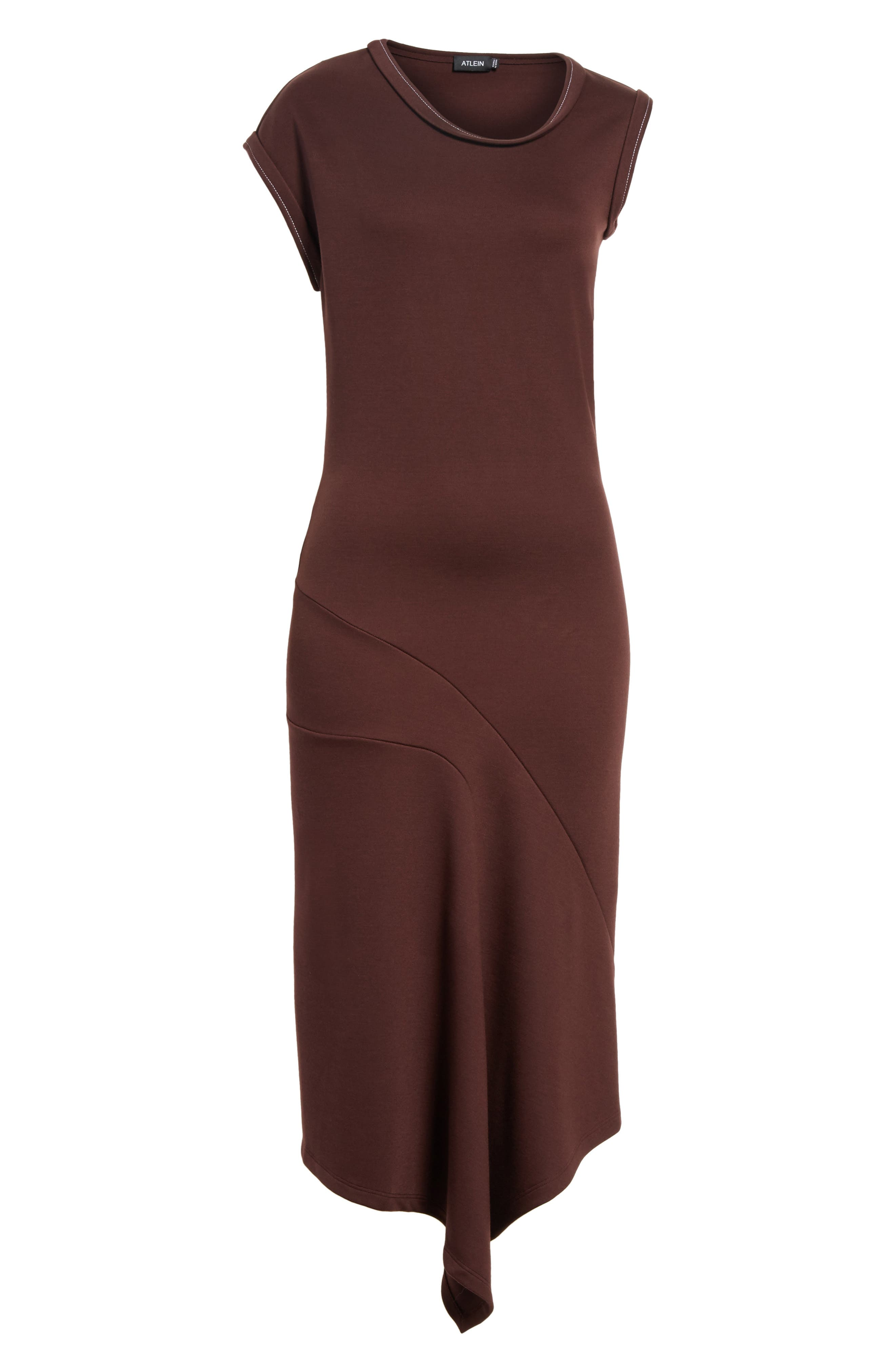 Alternate Image 6  - Atlein Jersey Midi Dress
