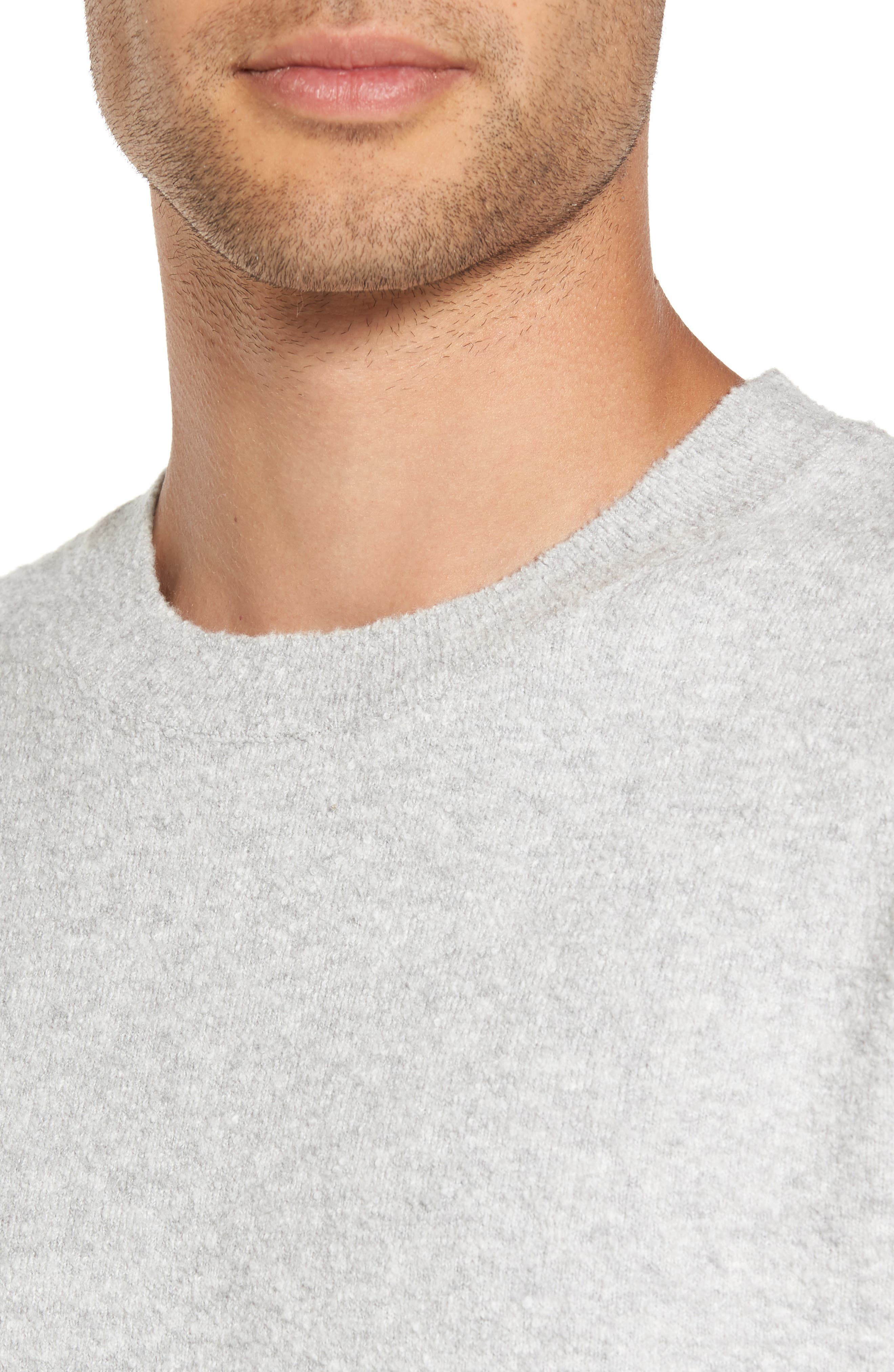 Nathaniel Classic Fit Sweater,                             Alternate thumbnail 4, color,                             Lunar Surface