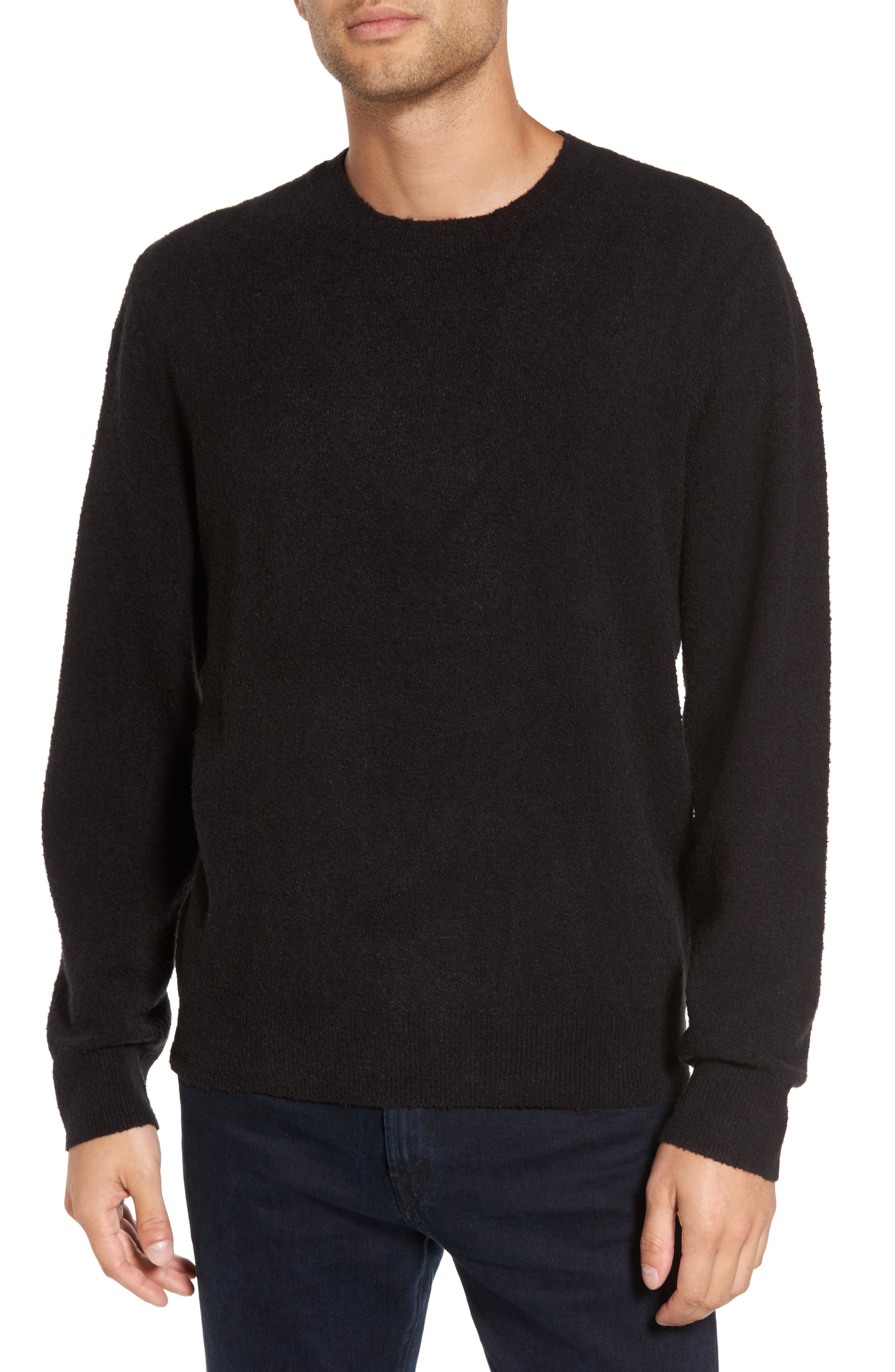 Nathaniel Classic Fit Sweater,                         Main,                         color, Jet Black