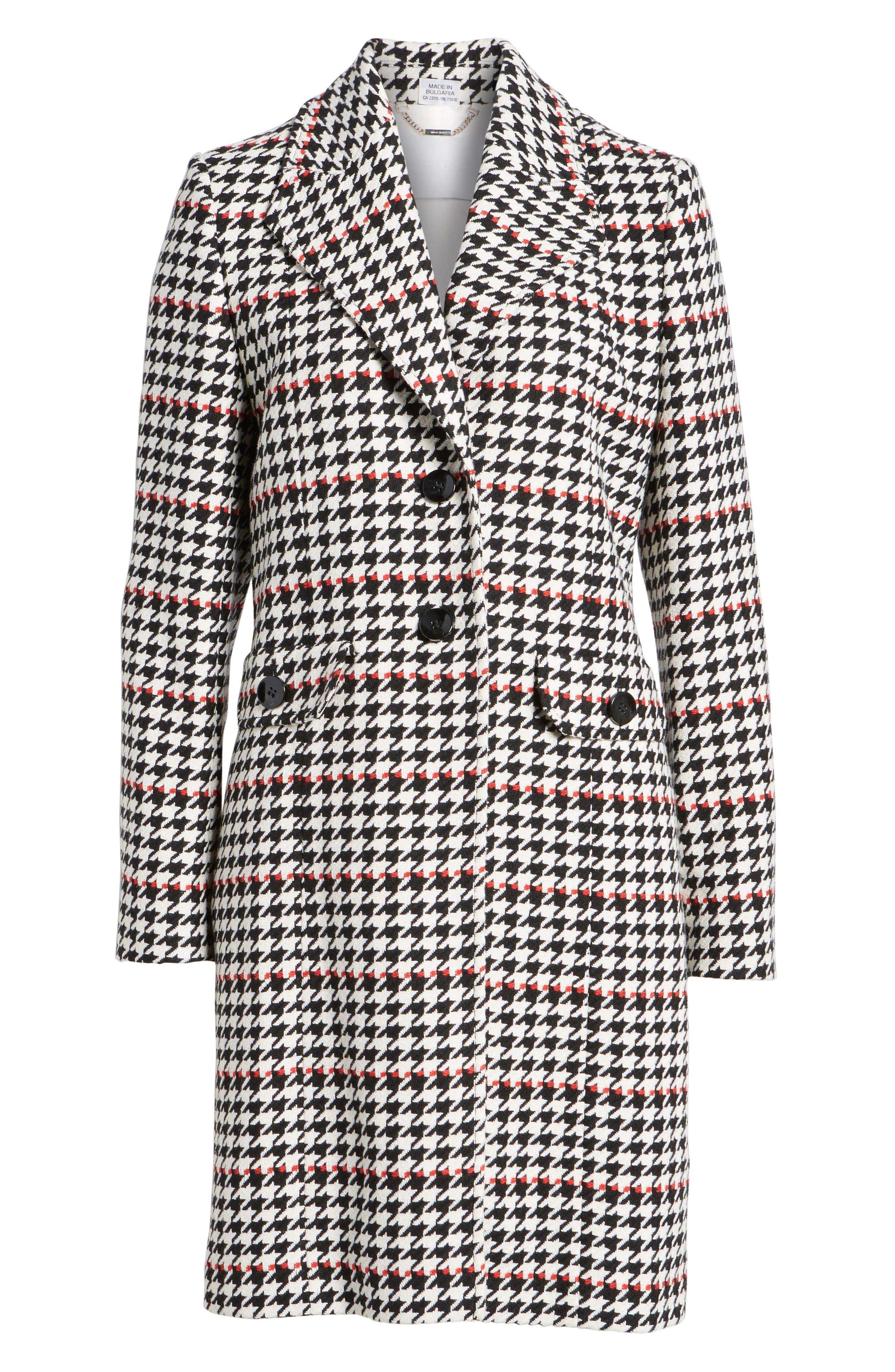 Alternate Image 6  - BOSS Cunarda Houndstooth Coat