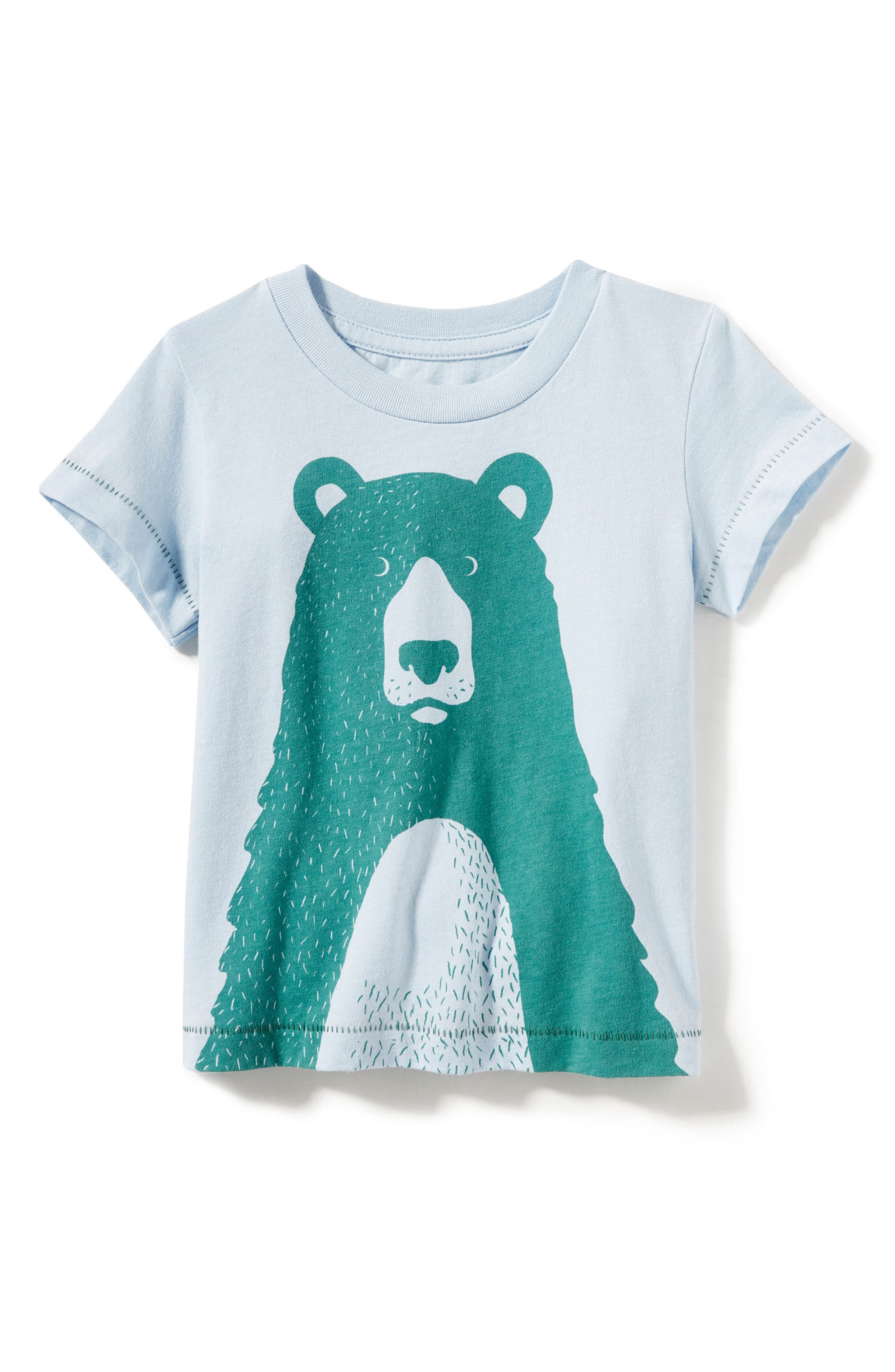 Alternate Image 1 Selected - Peek Big Bear Graphic T-Shirt (Baby Boys)