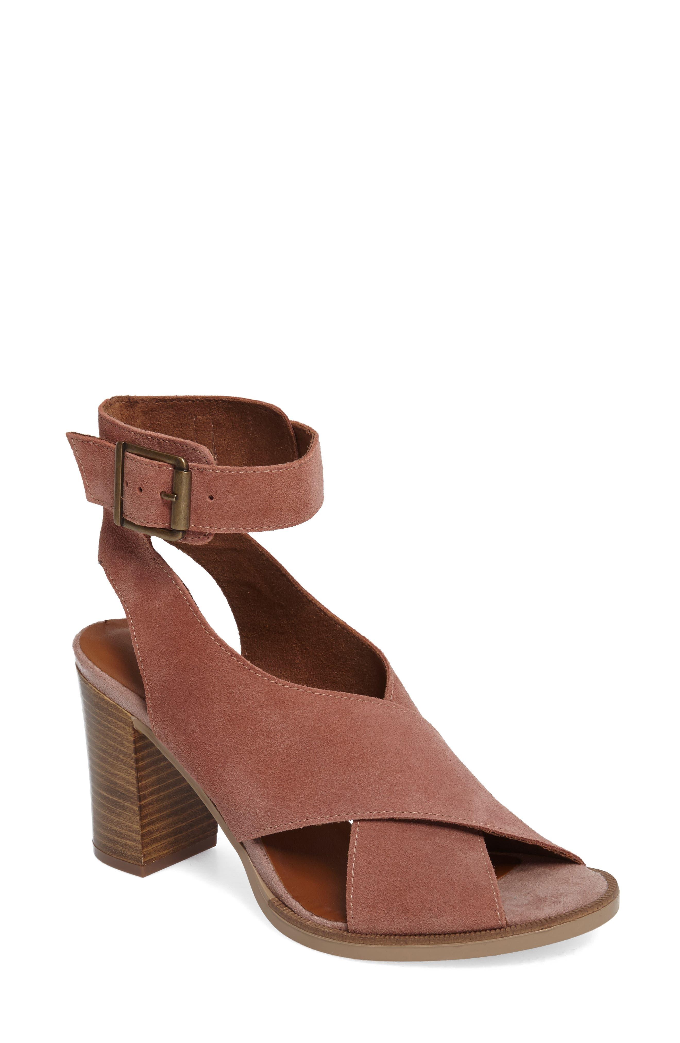 Main Image - Bella Vita Lil Ankle Wrap Sandal (Women)