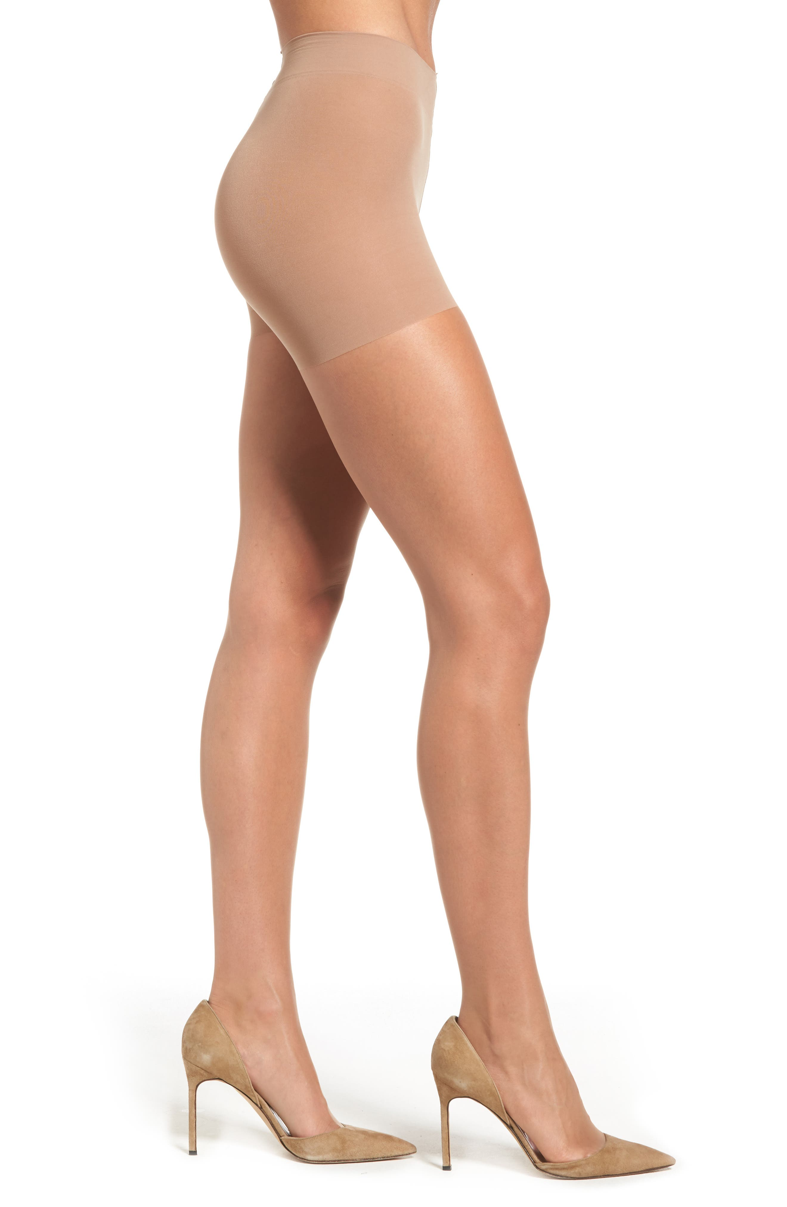 Alternate Image 1 Selected - Hanes Perfect Nudes Pantyhose (3 for $30)