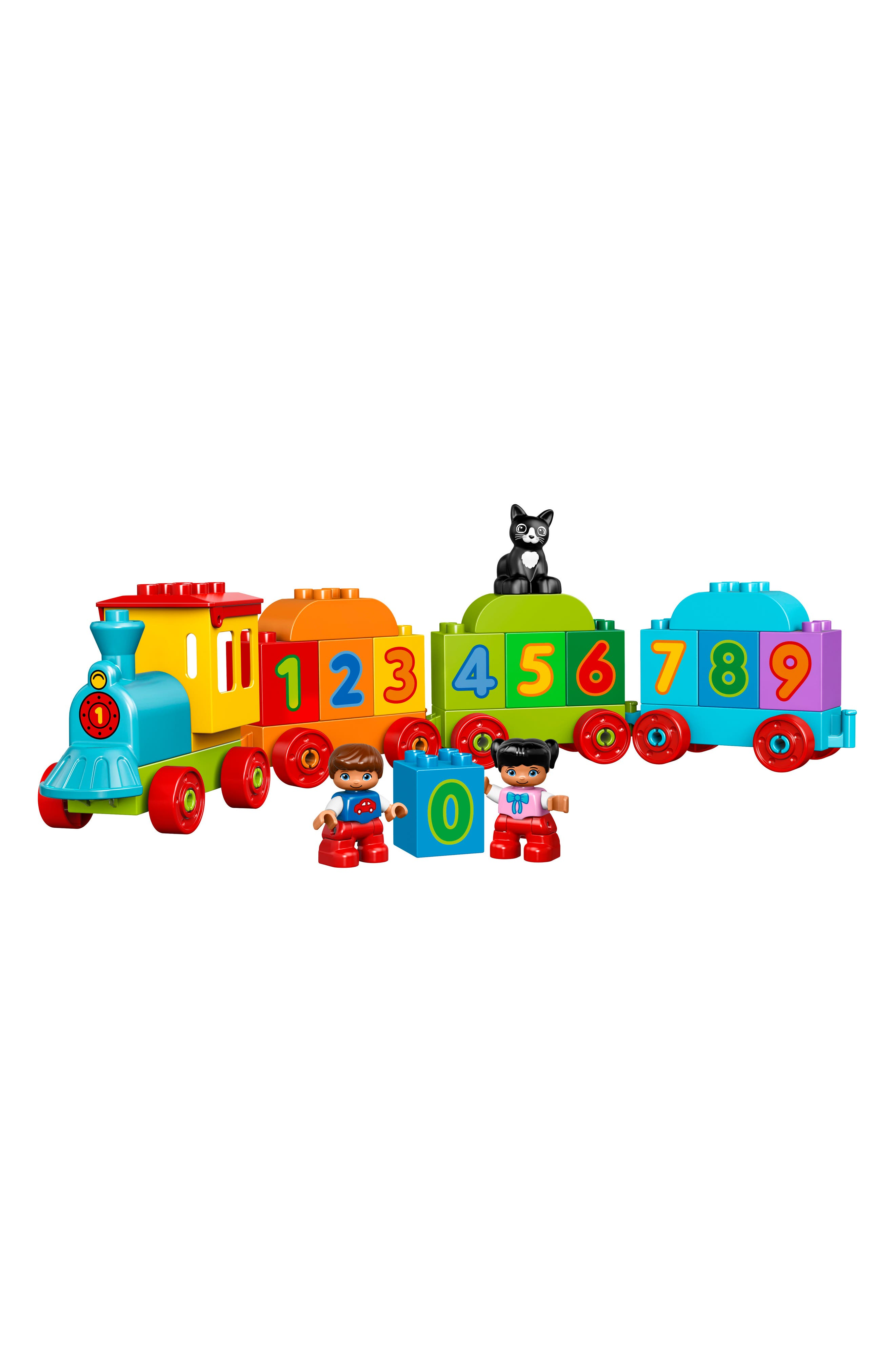 DUPLO<sup>®</sup> Number Train - 10847,                             Alternate thumbnail 2, color,                             Green