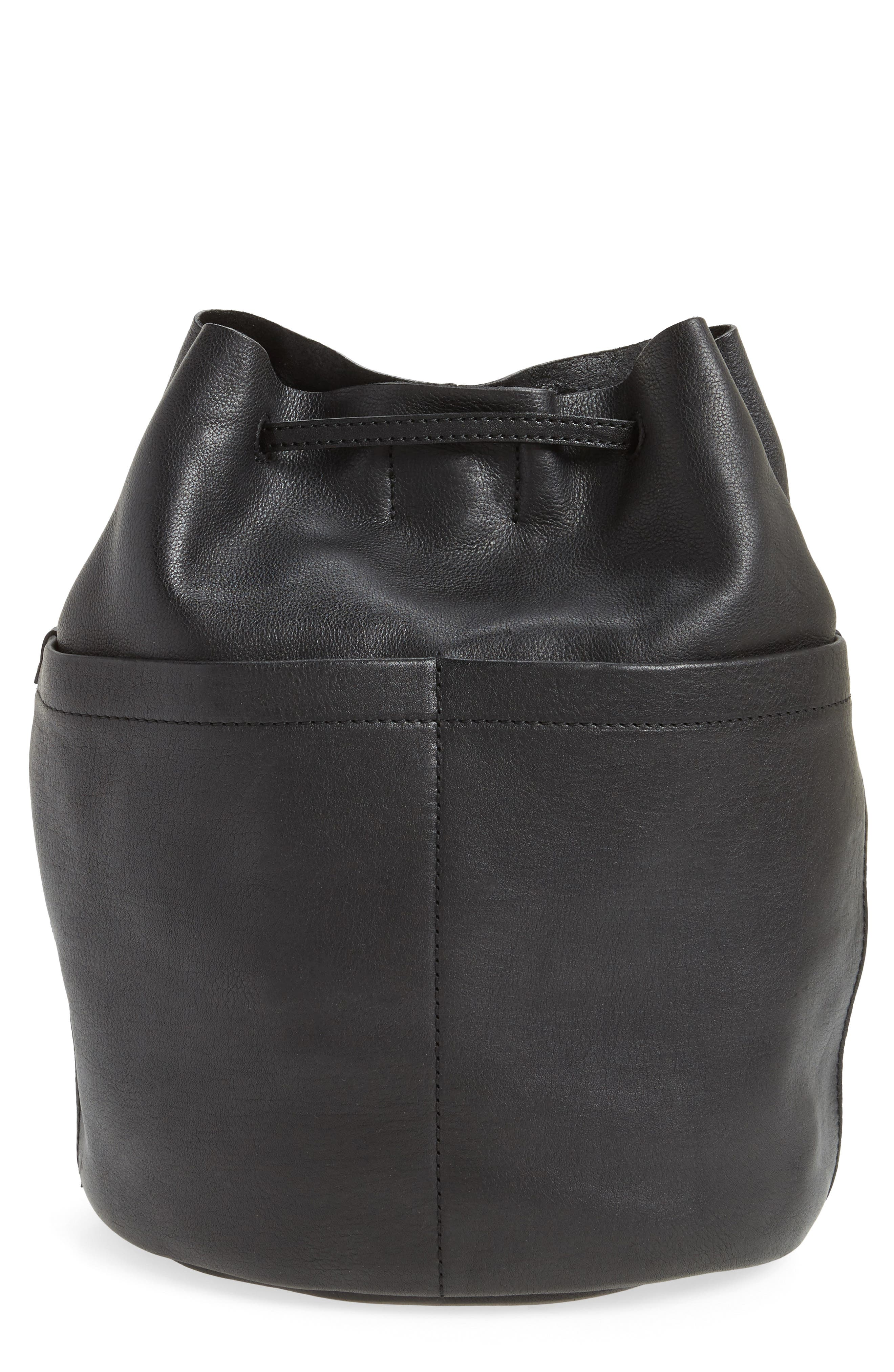 Madewell The Convertible Leather Backpack