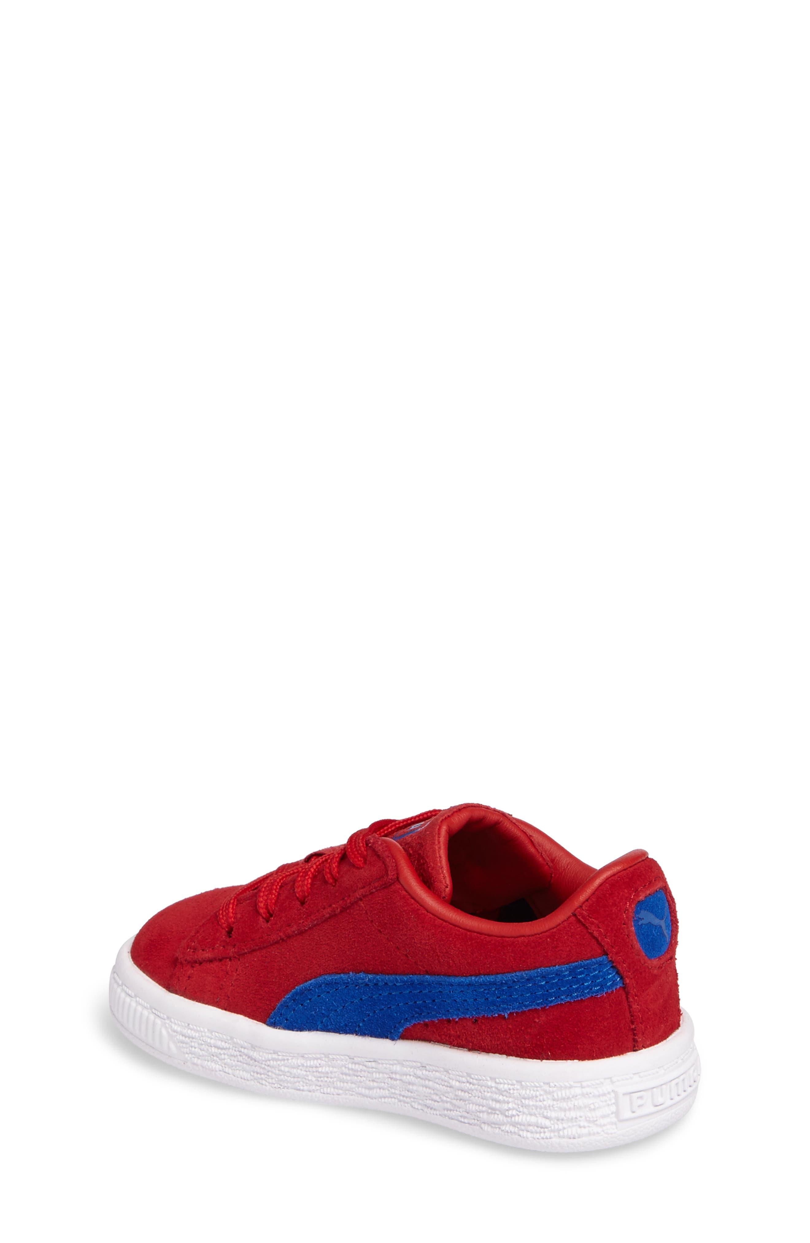 Alternate Image 2  - PUMA Classic Terry Sneaker (Baby, Walker & Toddler)