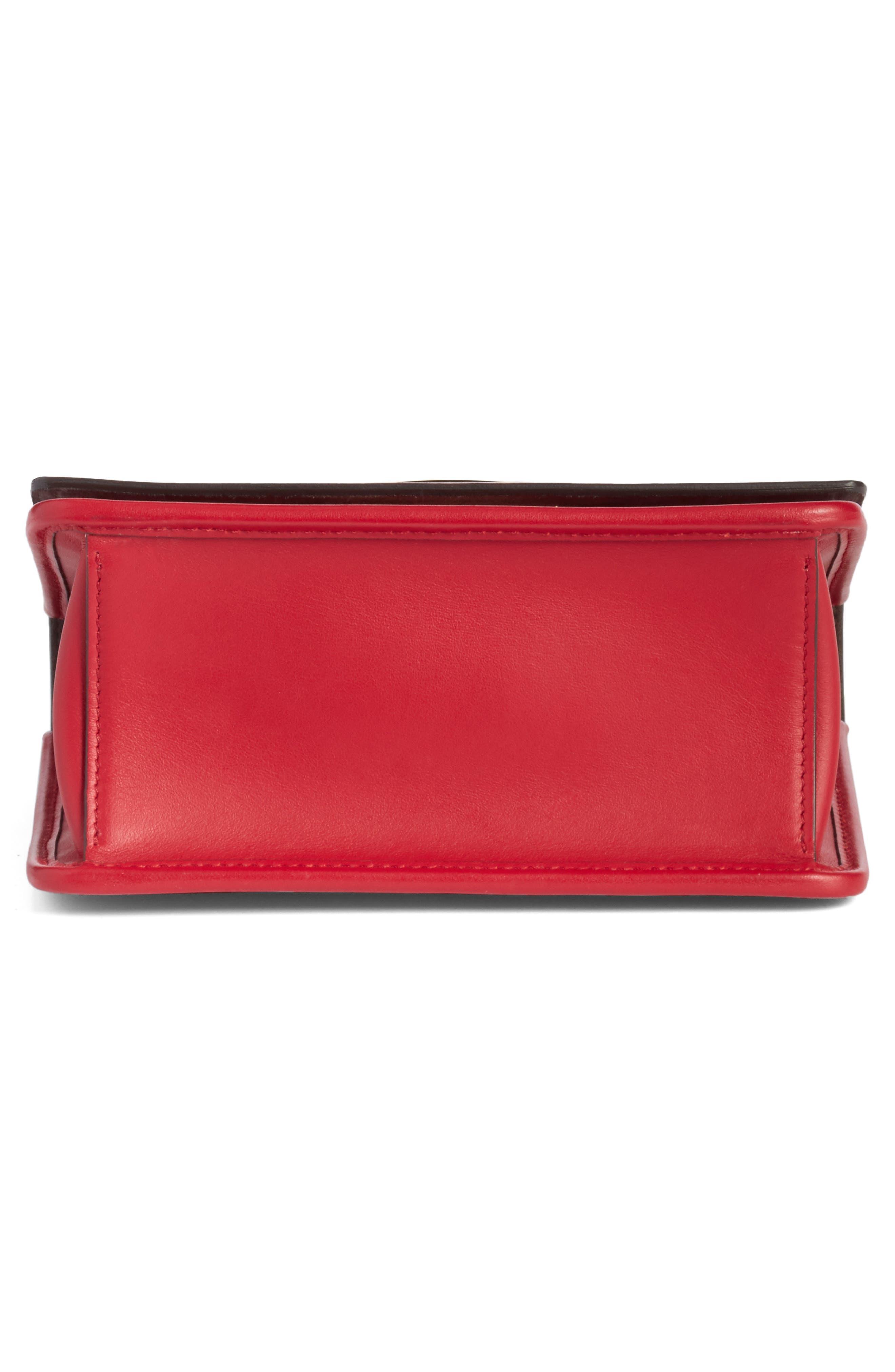 Alternate Image 6  - Fendi Kan I Calfskin Leather Shoulder Bag