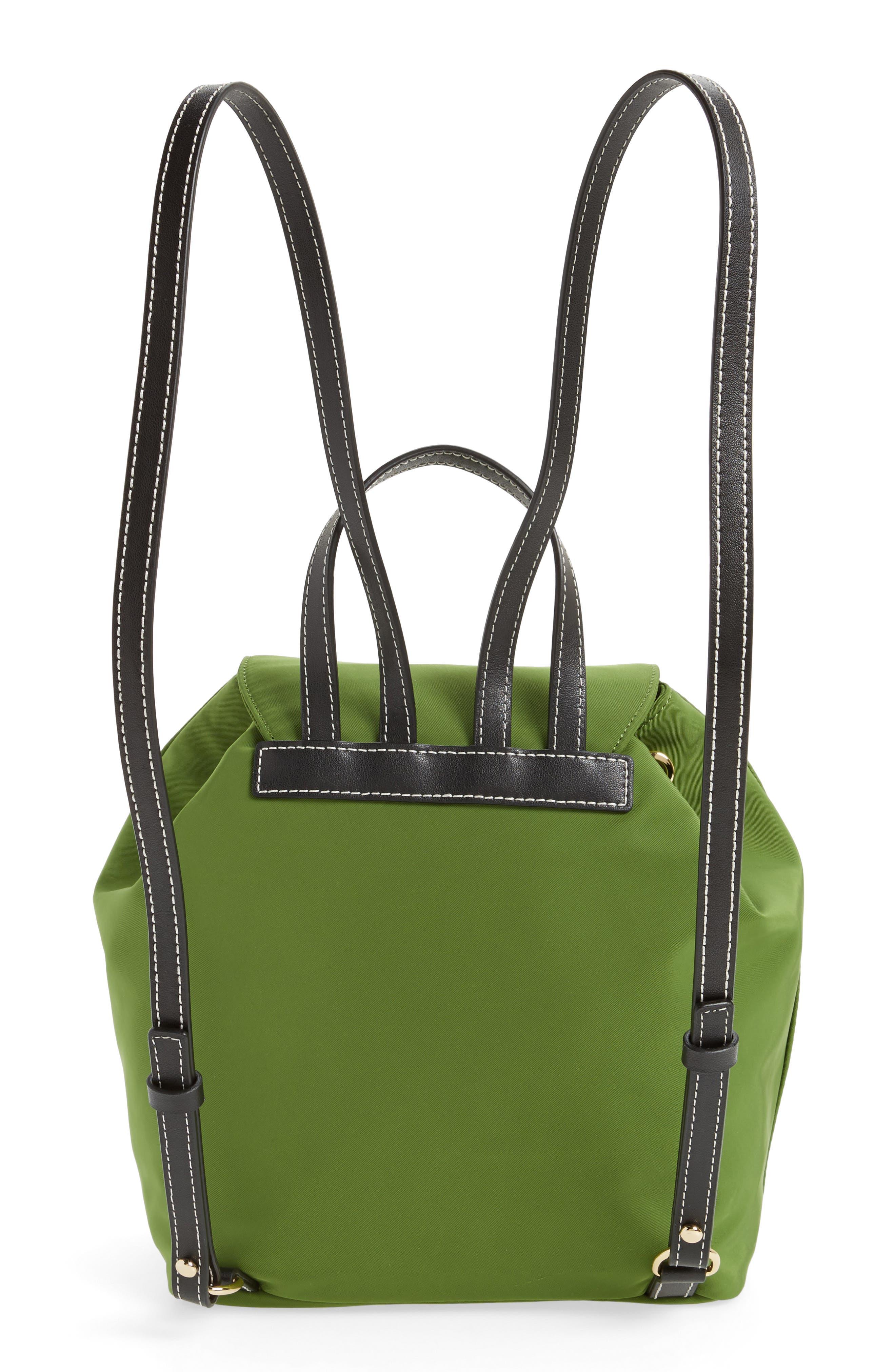 Nylon Backpack,                             Alternate thumbnail 2, color,                             Grass