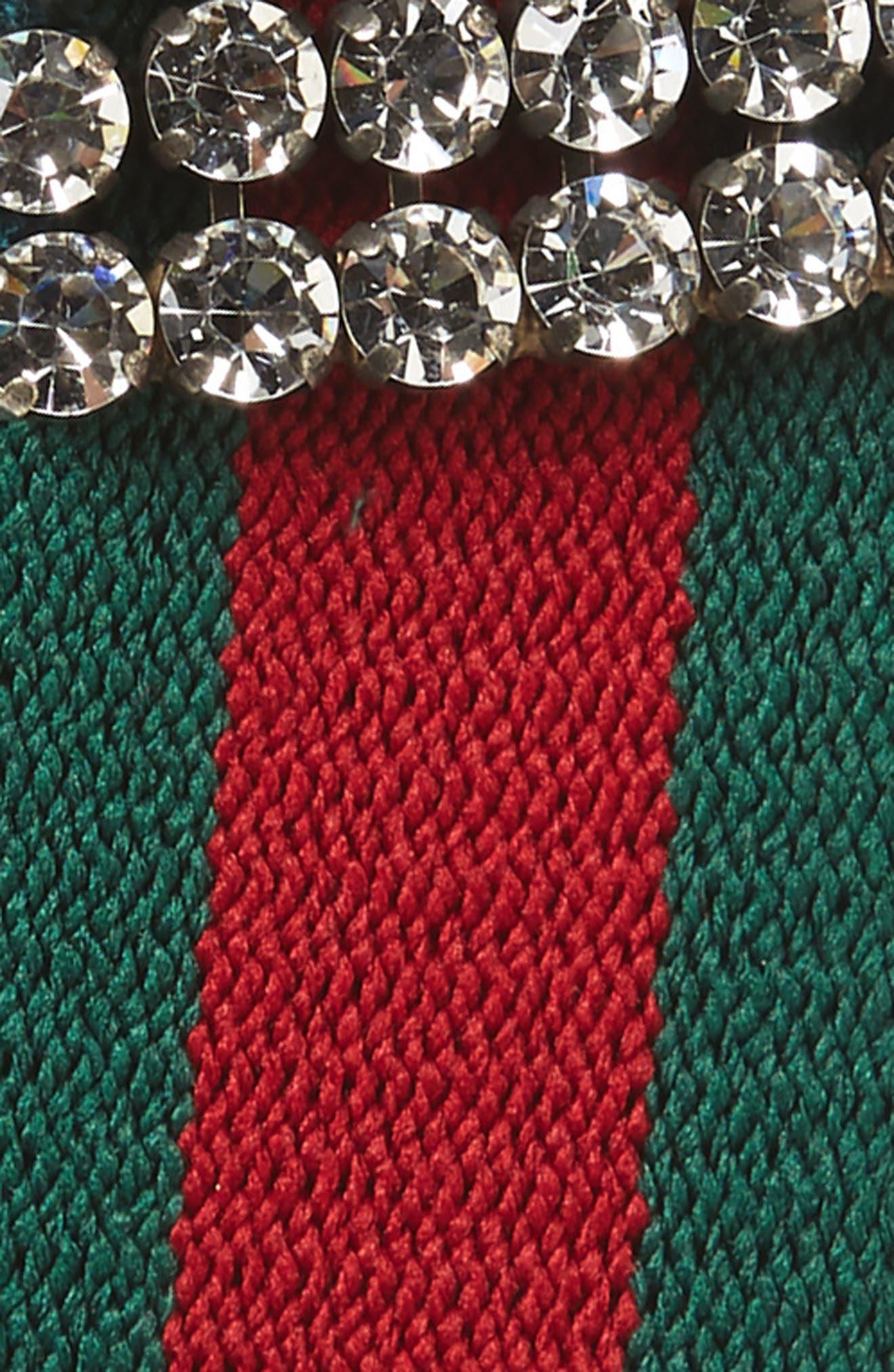 Webby Crystal Embellished Headband,                             Alternate thumbnail 2, color,                             Green