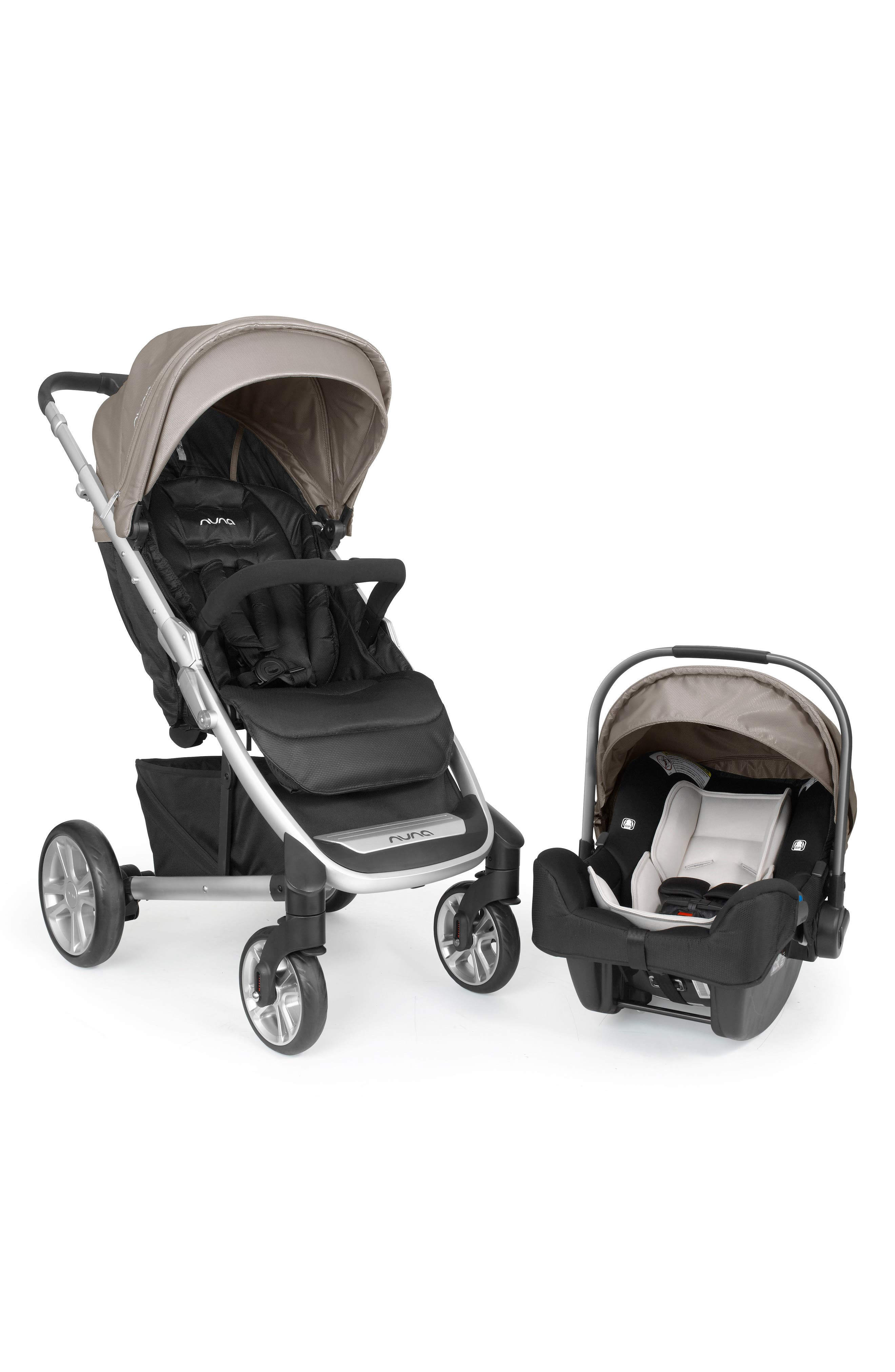 nuna travel system stroller car seat