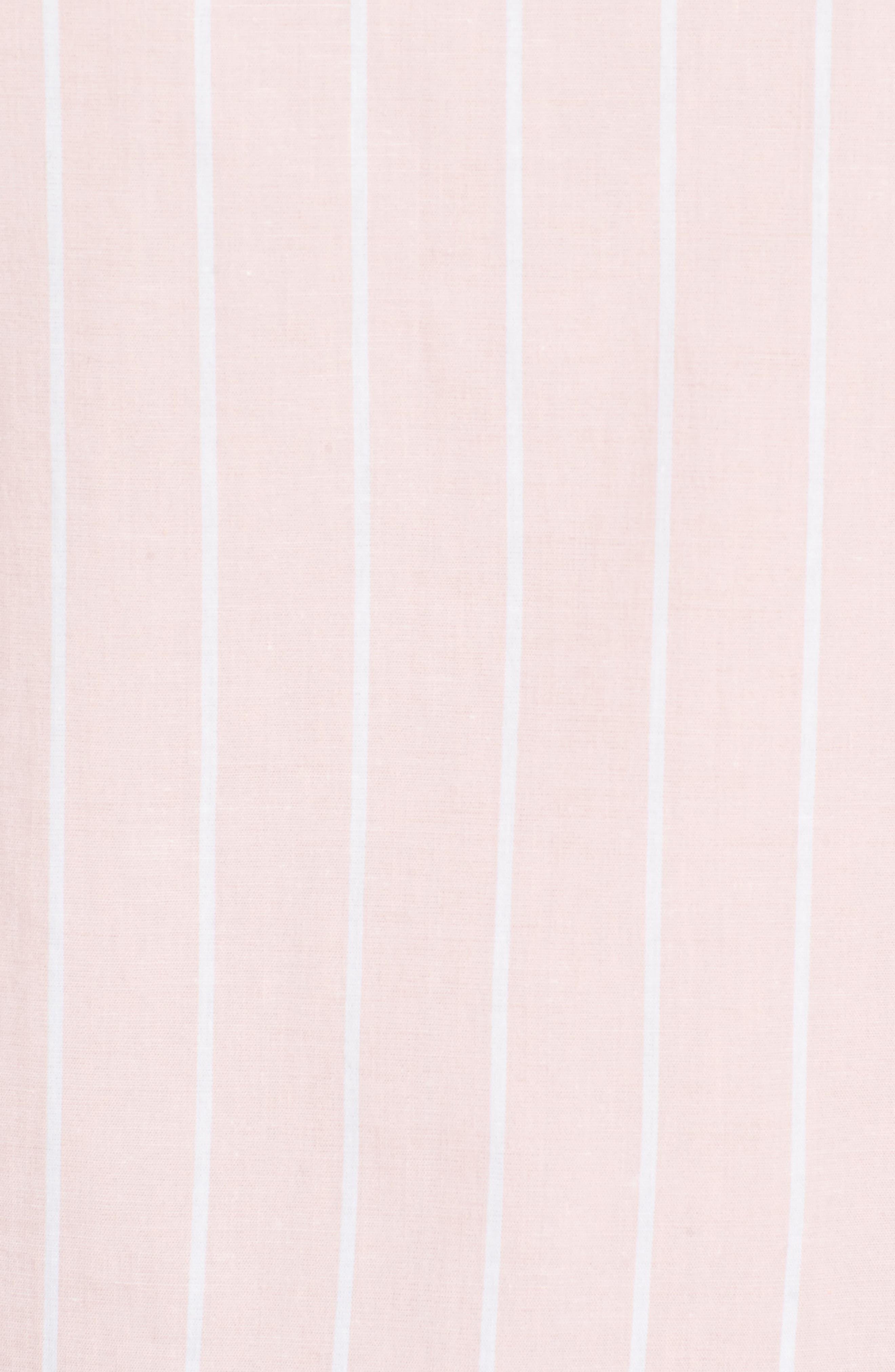 Alternate Image 5  - Halogen® Bell Sleeve Stripe Blouse