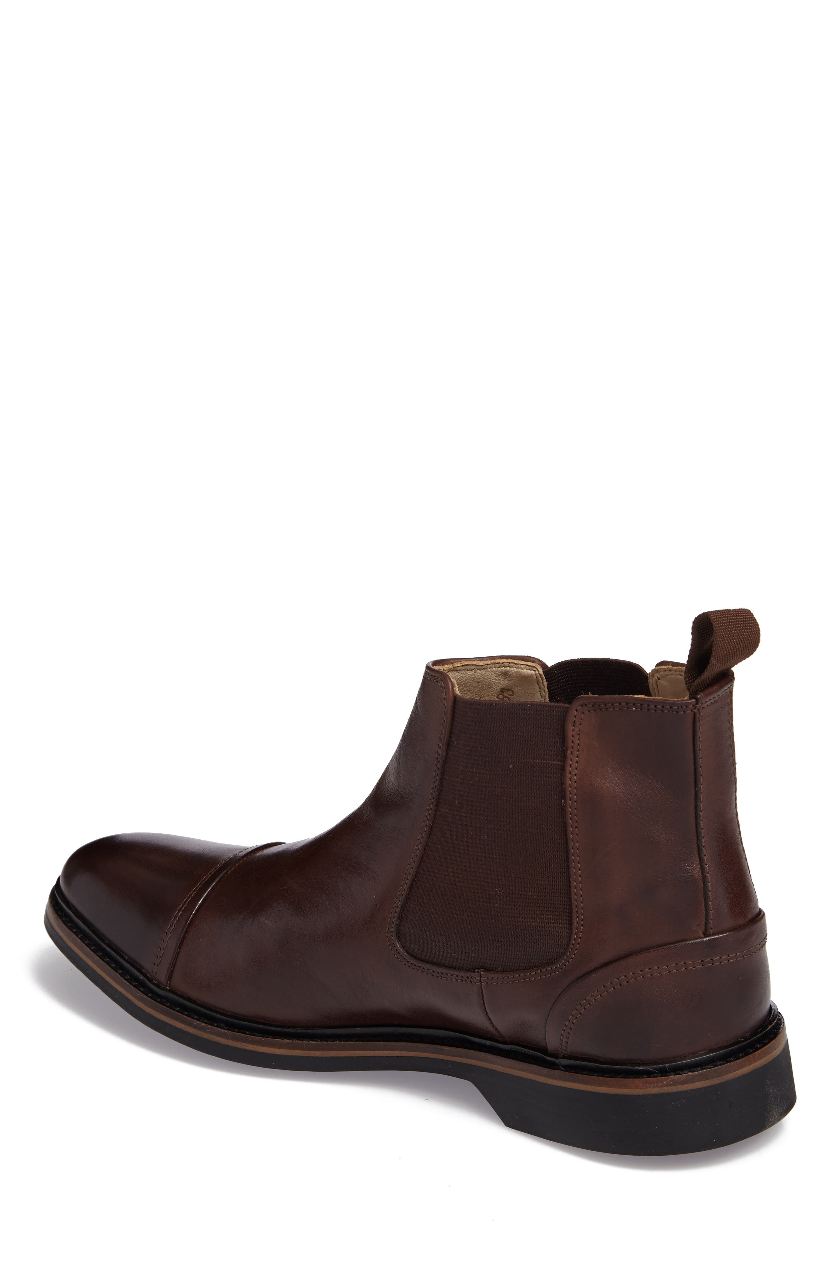 Floriano Chelsea Boot,                             Alternate thumbnail 2, color,                             Touch Castanho