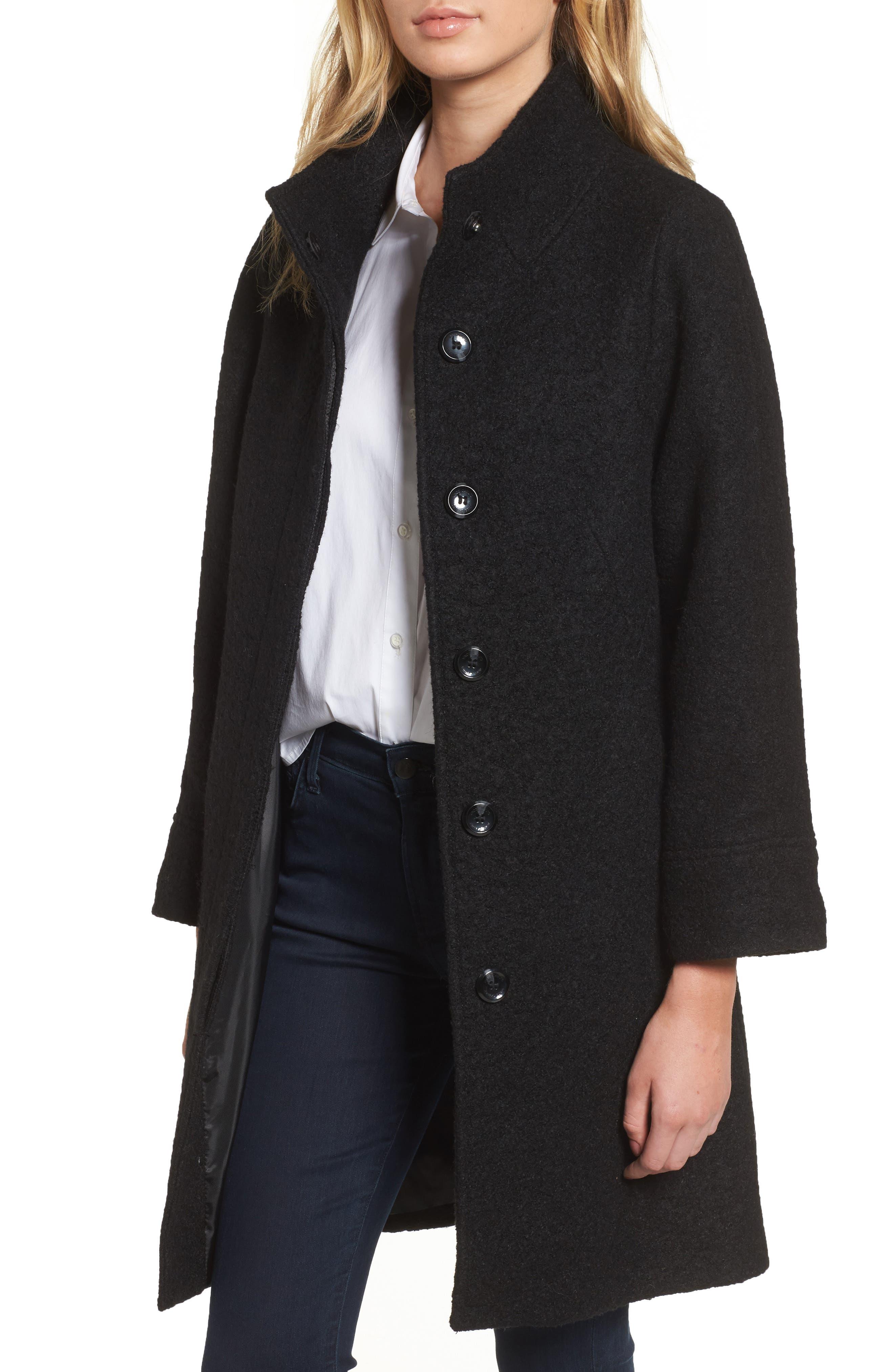 Car Coat,                         Main,                         color, Black