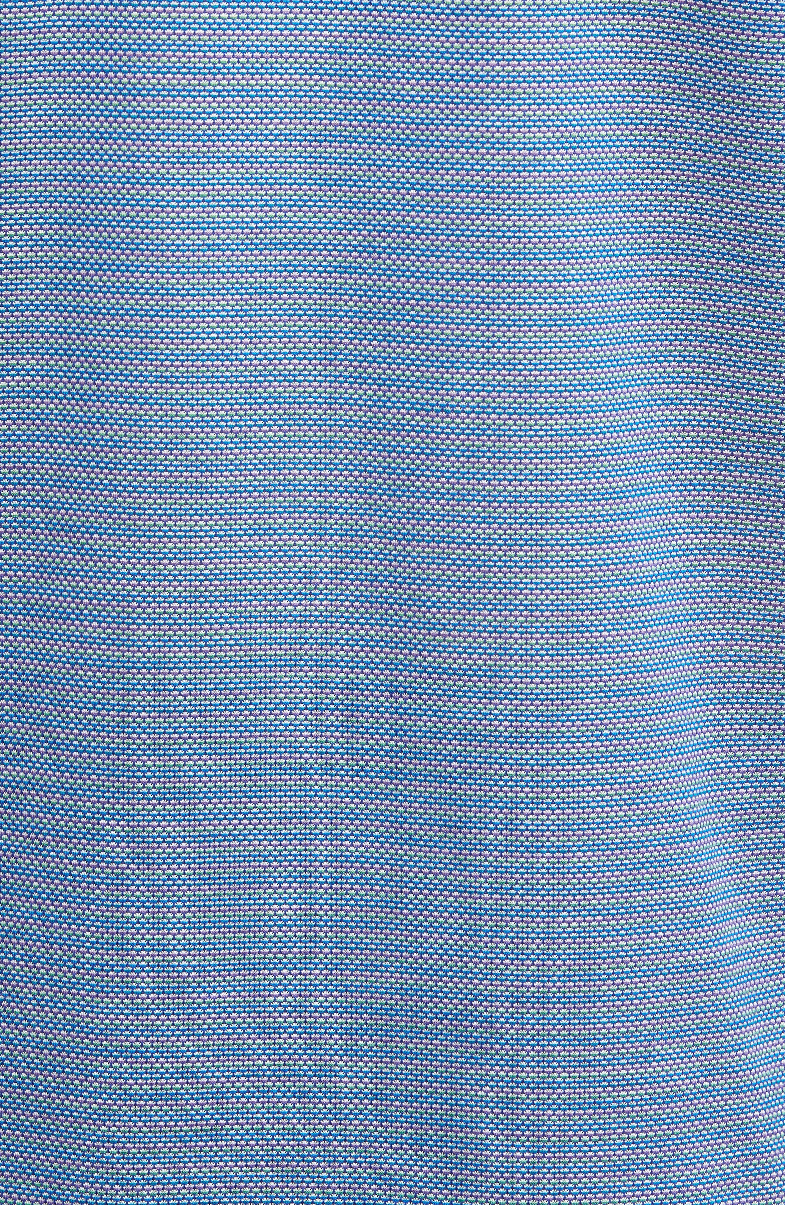 Classic Fit Dobby Polo,                             Alternate thumbnail 5, color,                             Classic Blue