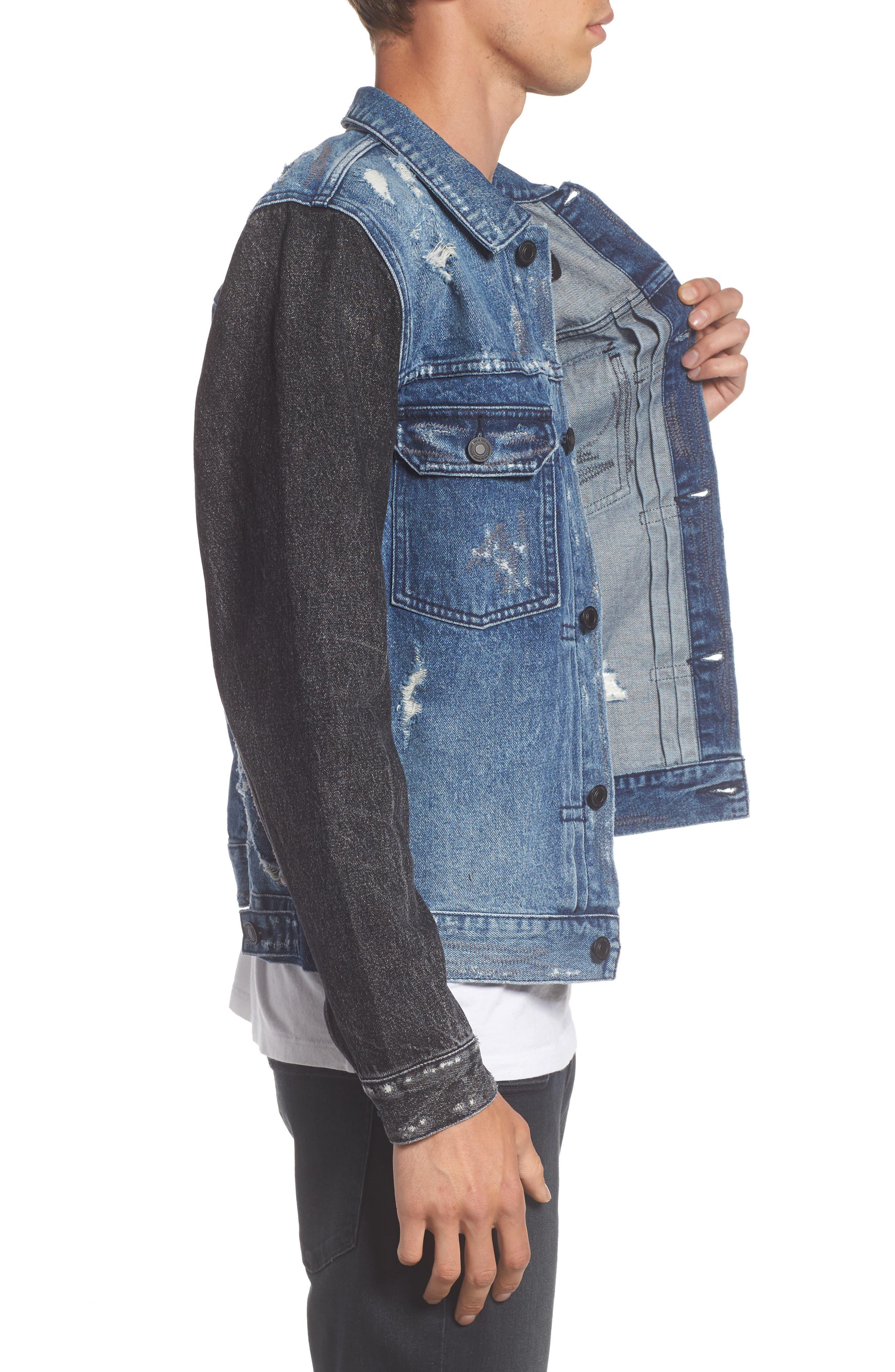 Alternate Image 3  - NEUW Trash Denim Jacket