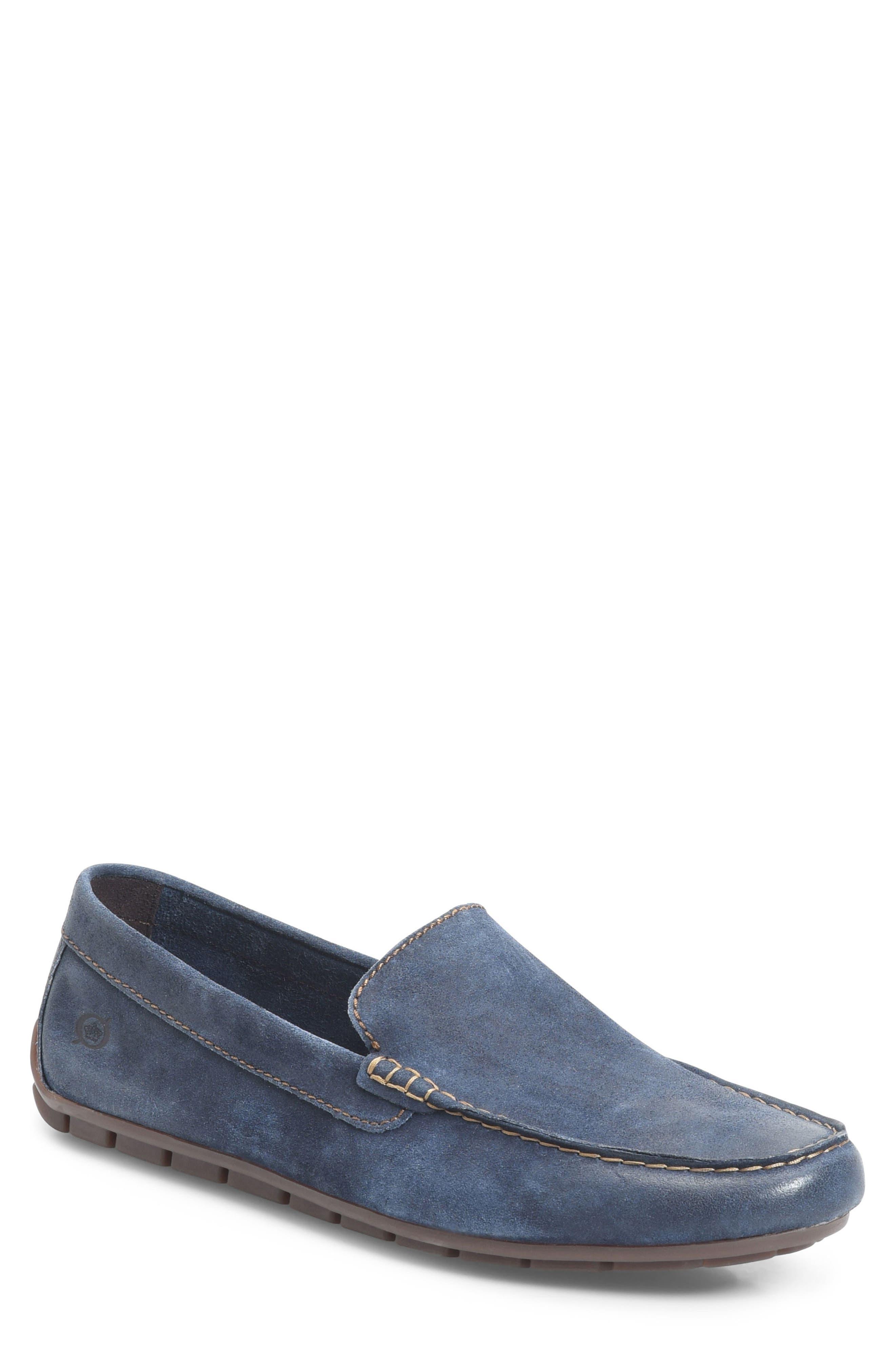 'Allan' Slip-On,                         Main,                         color, Blue Distressed
