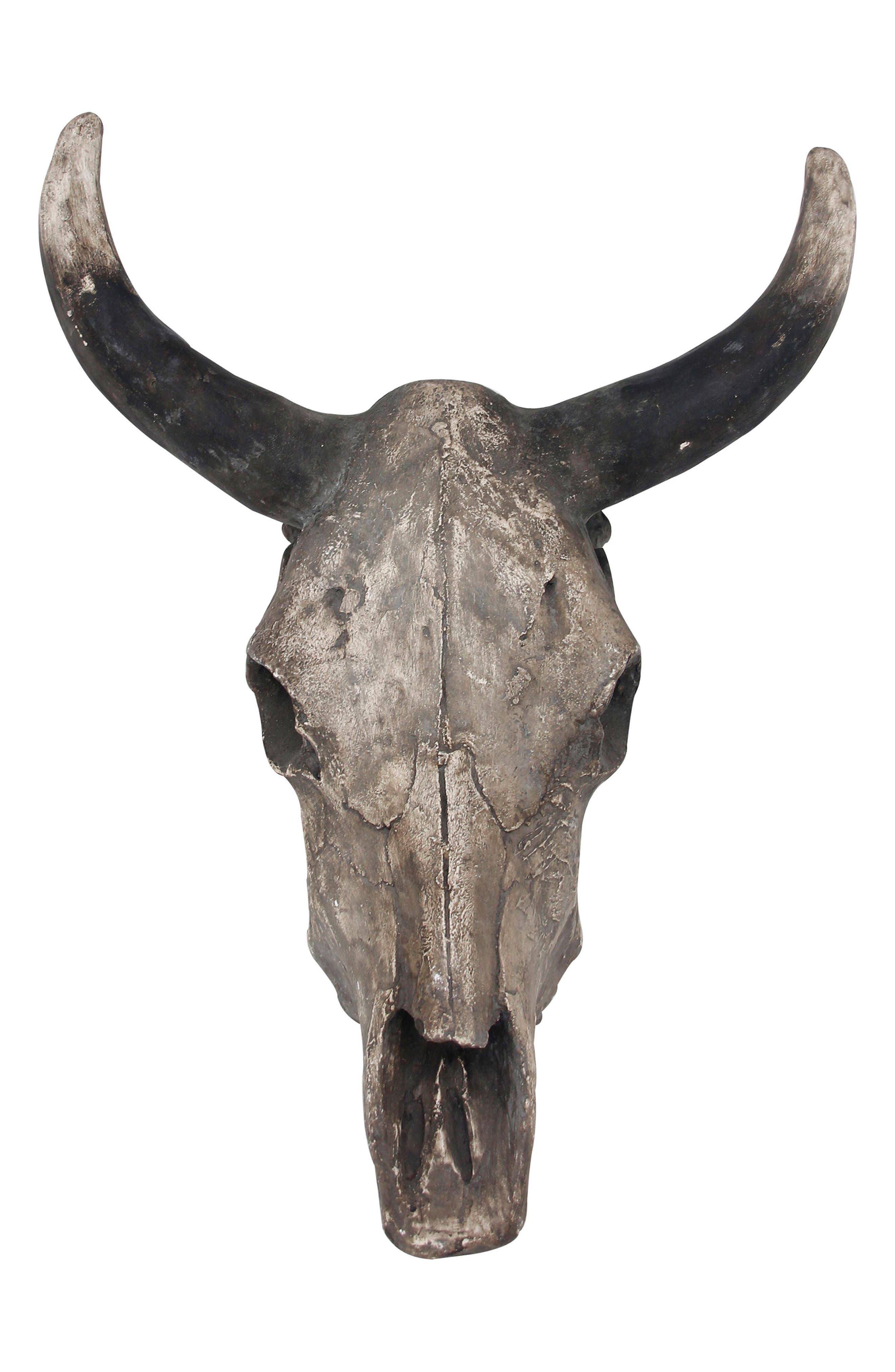Alternate Image 1 Selected - Foreside Steer Skull Wall Art