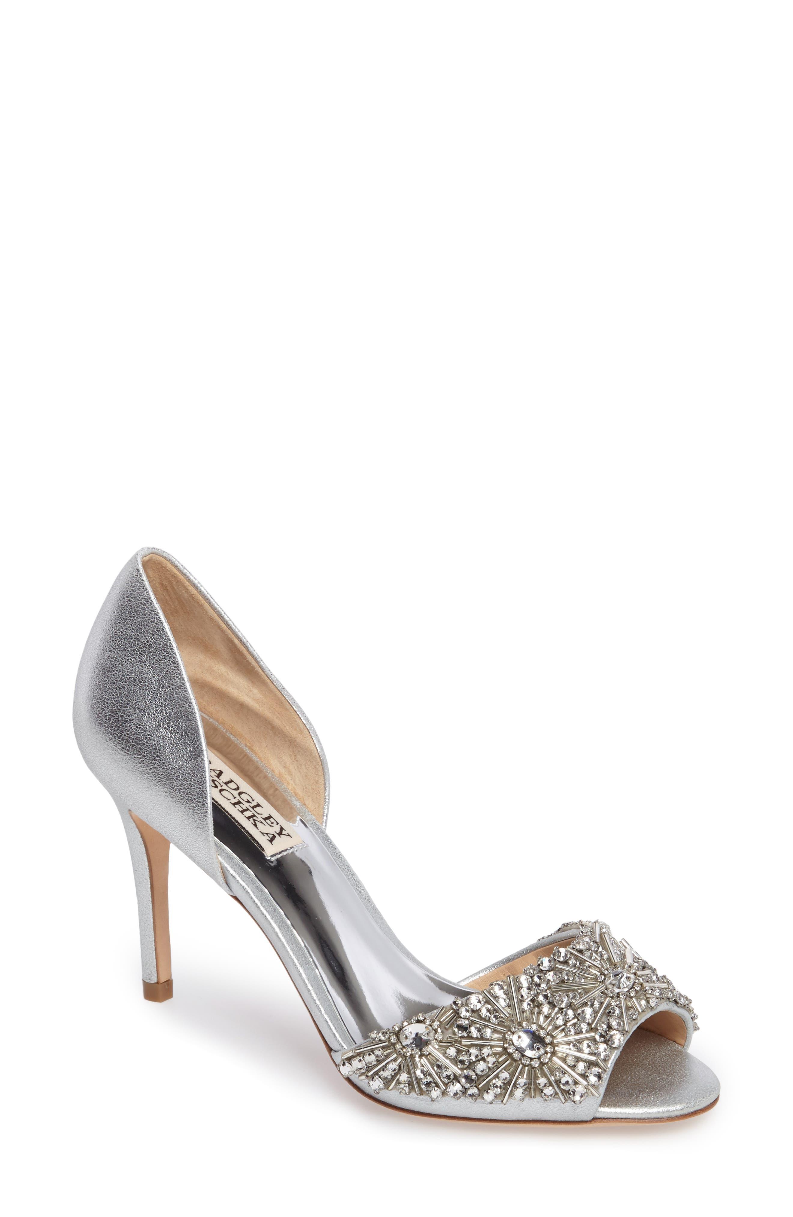 silver heels | Nordstrom
