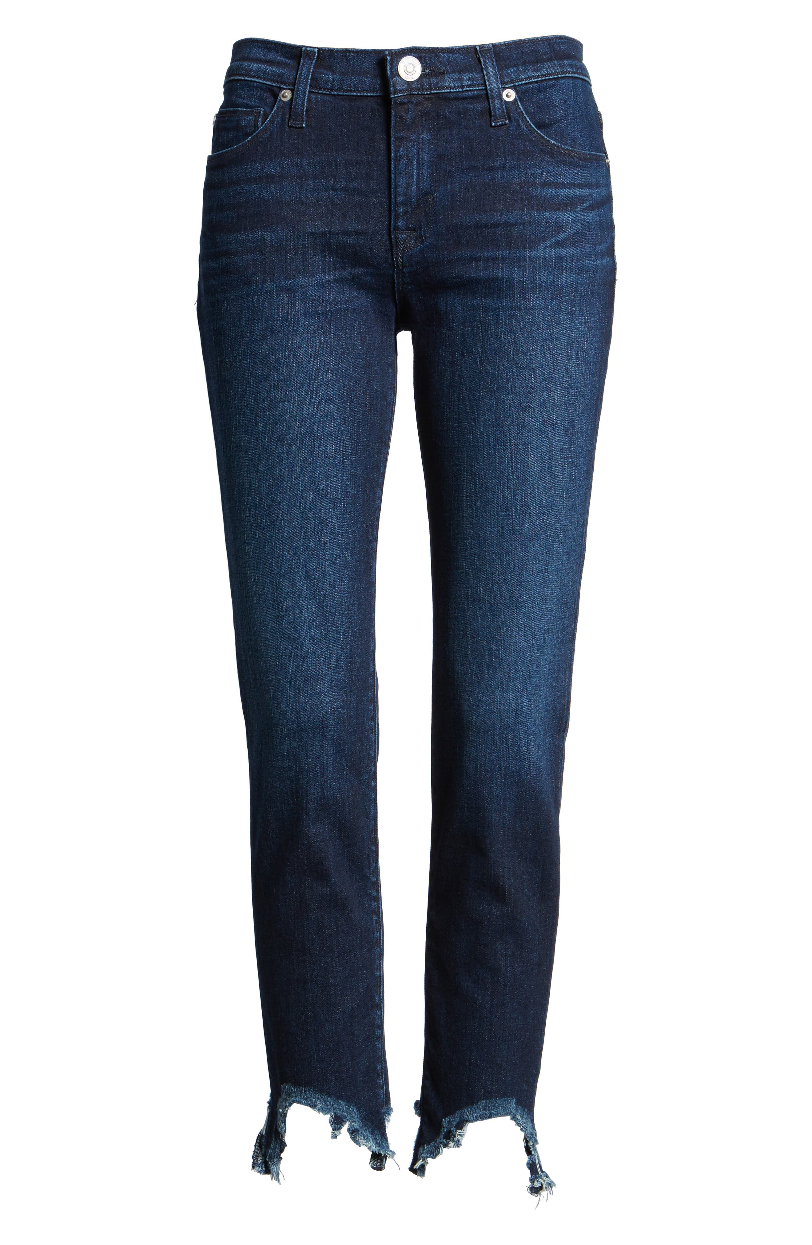 Hudson Jeans Tally Unfamed Hem Skinny Jeans