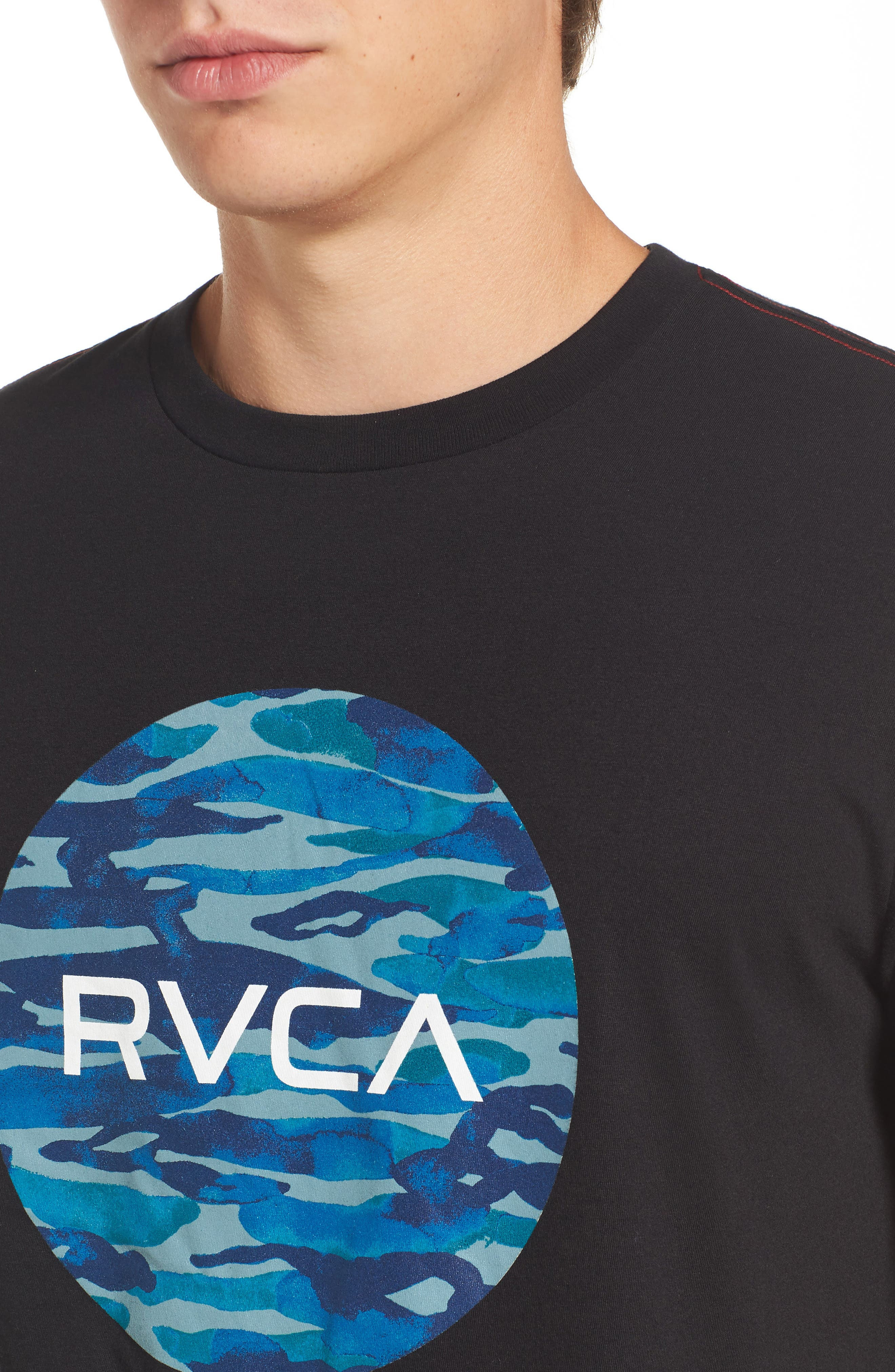 Alternate Image 4  - RVCA Water Camo Motors Graphic T-Shirt