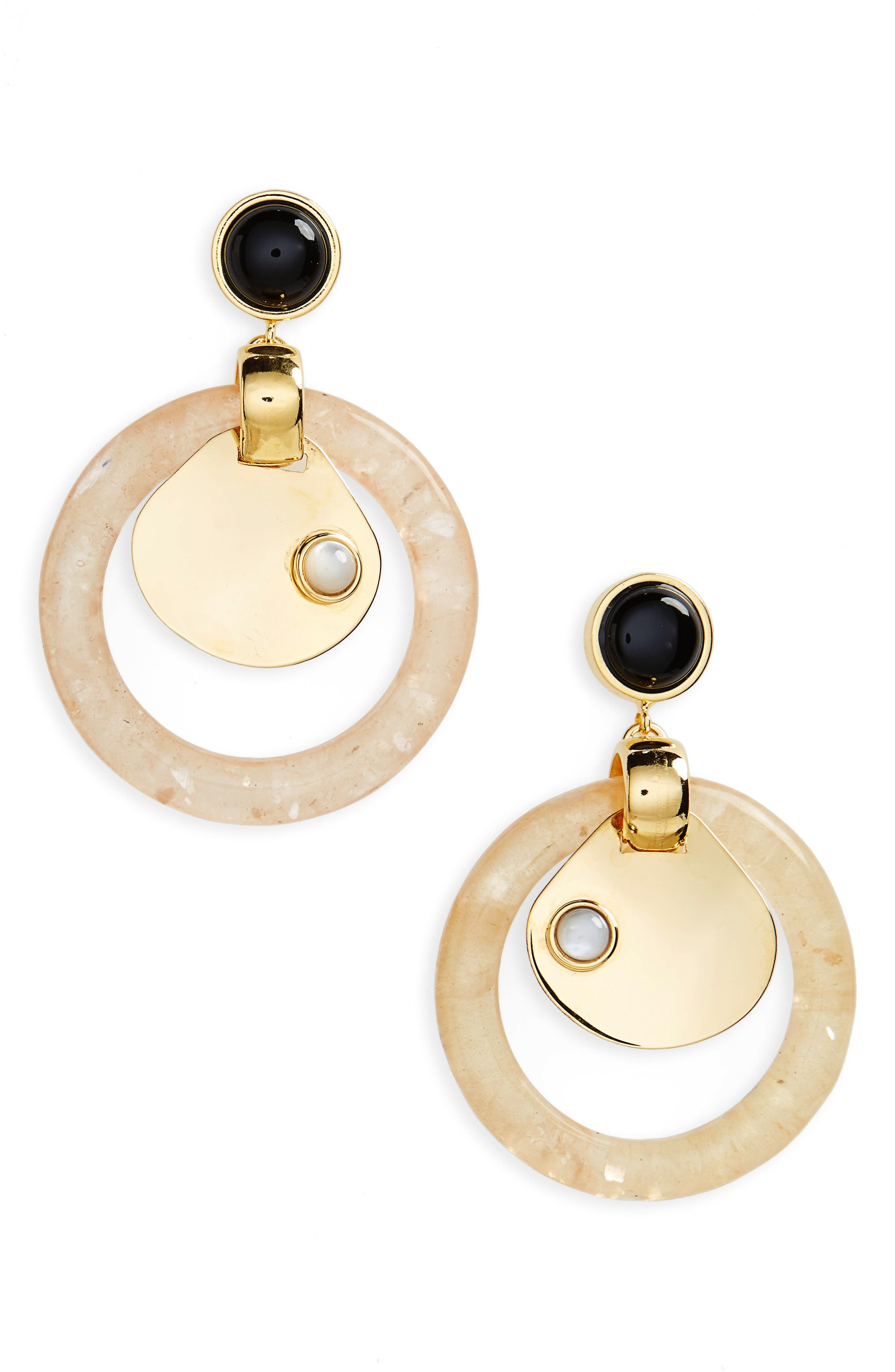 Sun Washed Drop Earrings,                         Main,                         color, Gold