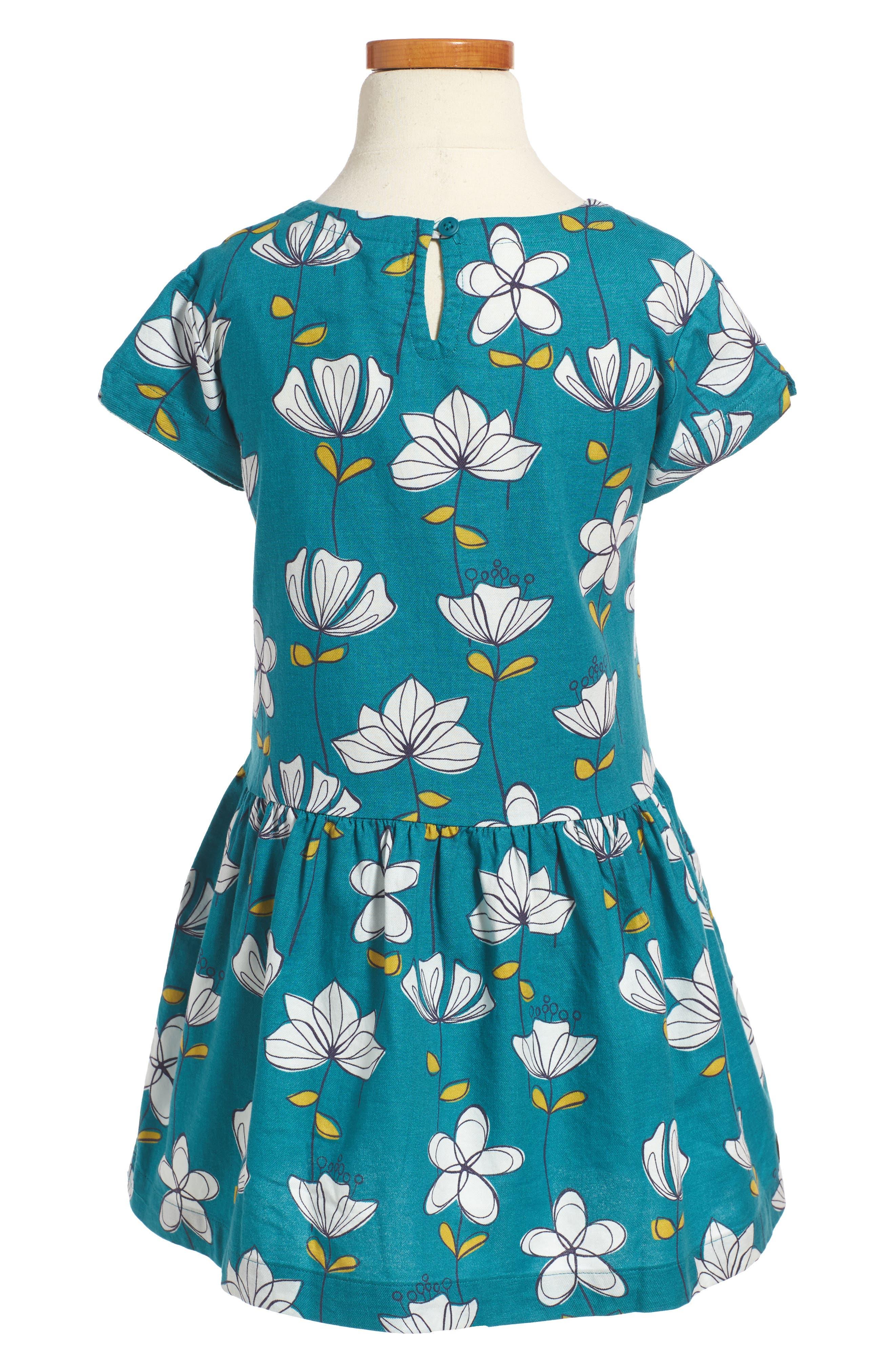 Alternate Image 2  - Tea Collection Brianna Pocket Dress (Toddler Girls, Little Girls & Big Girls)