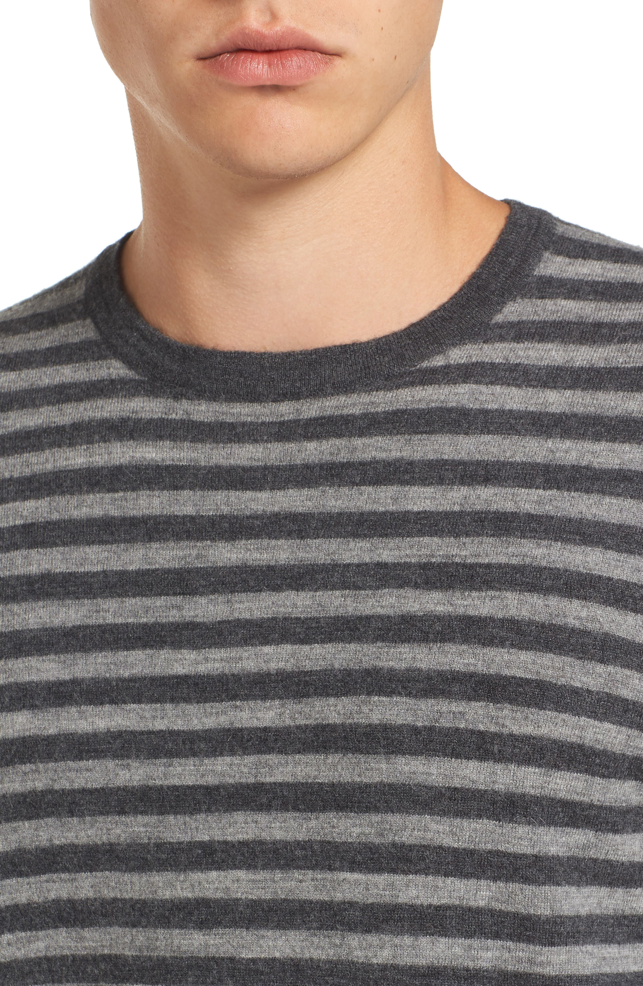 Alternate Image 4  - French Connection Double Stripe Wool Sweater