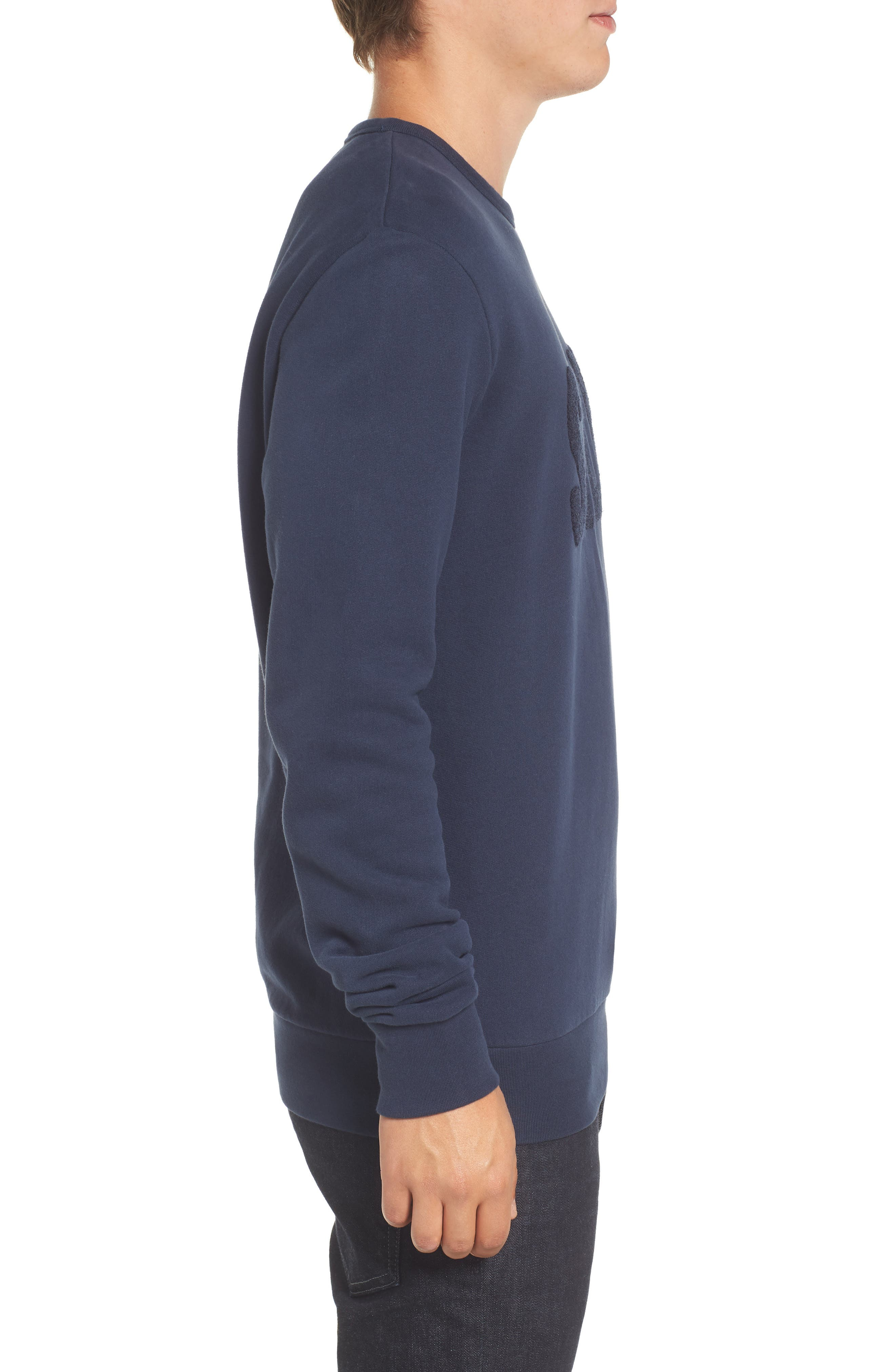 Alternate Image 3  - French Connection Salut Crewneck Sweater