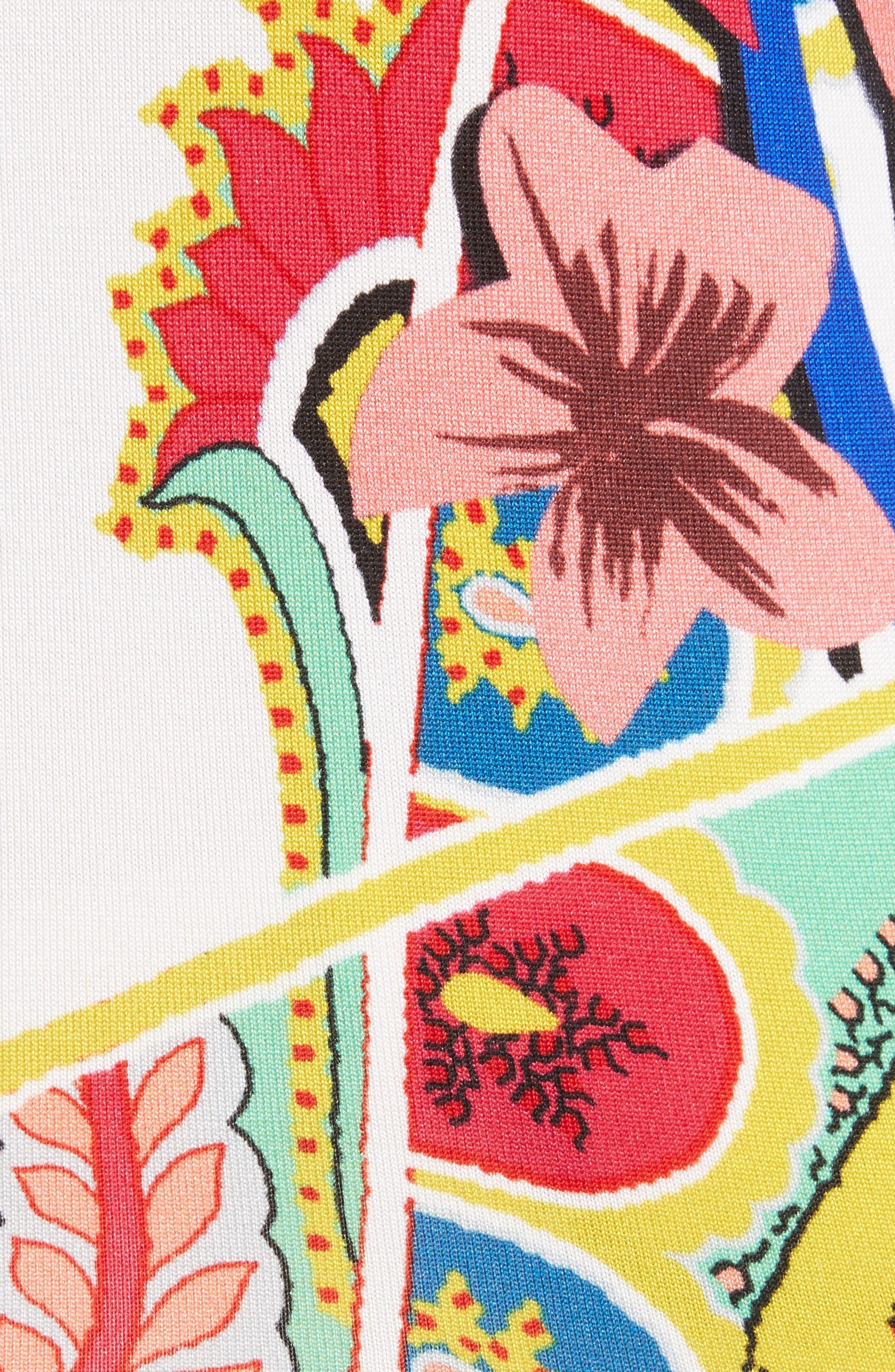 Alternate Image 5  - Etro Floral Stretch Silk Sweater