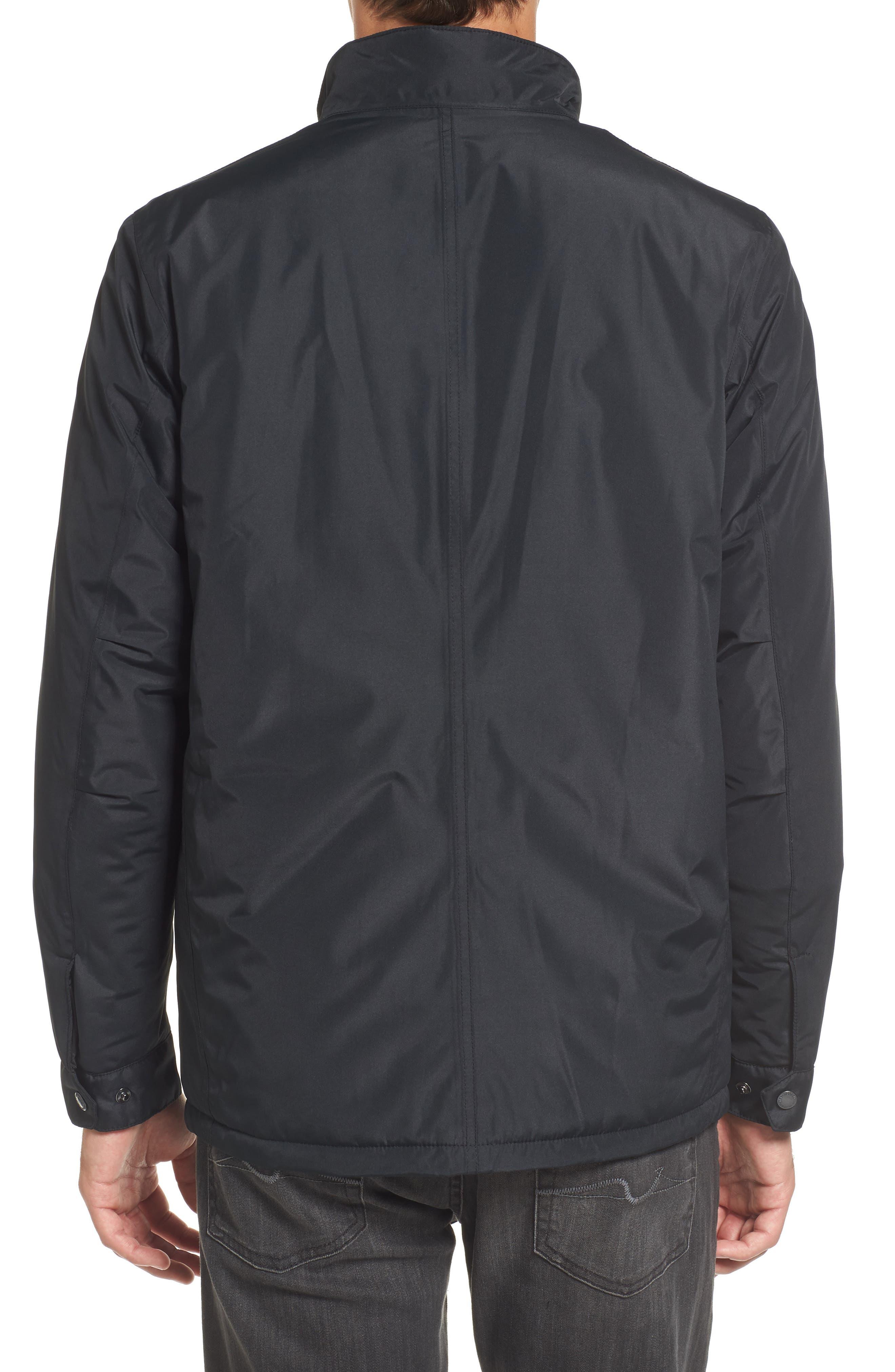 B.Intl Tyne Waterproof Jacket,                             Alternate thumbnail 2, color,                             Black