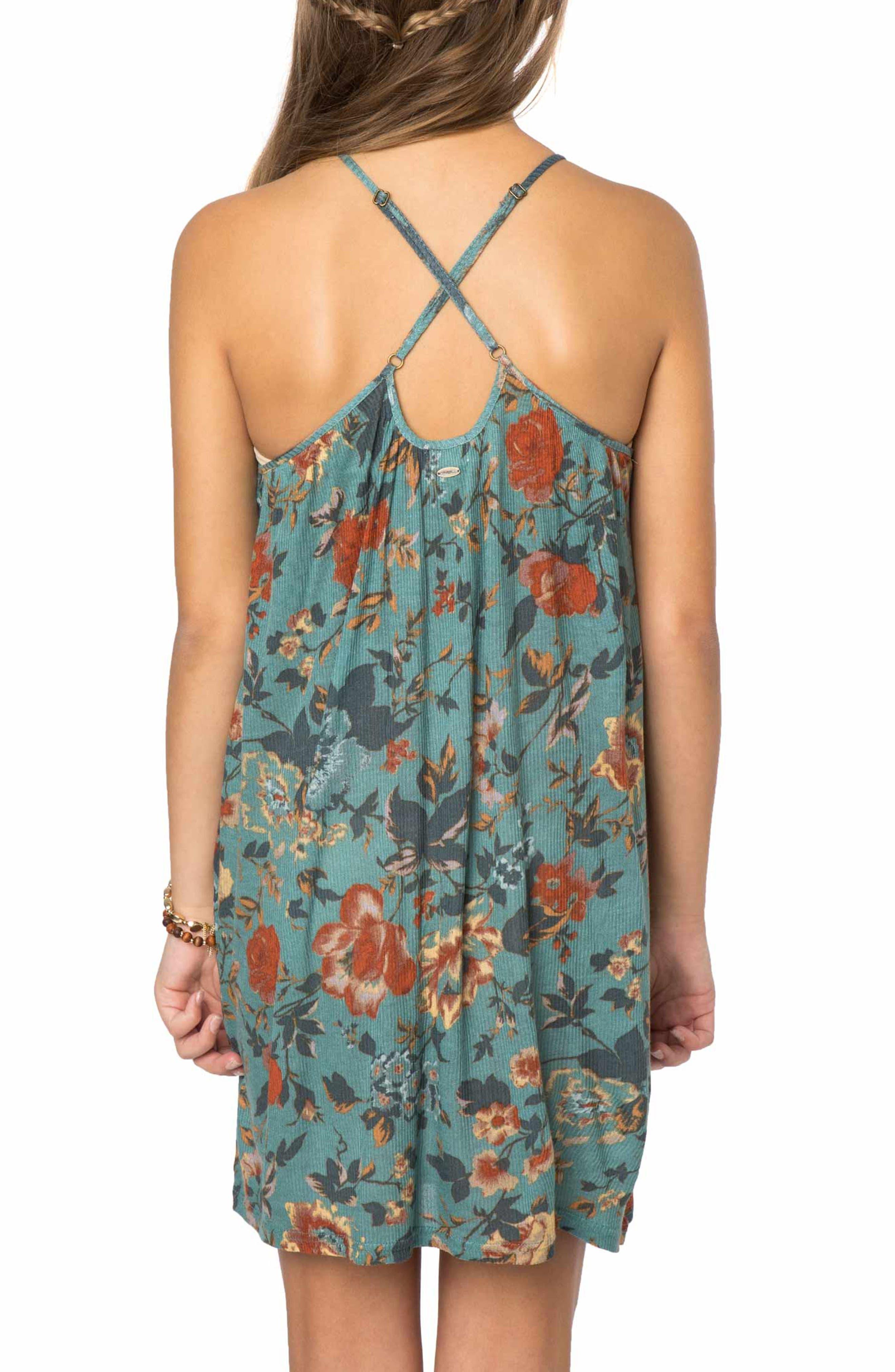 Devy Rib Knit Tank Dress,                             Alternate thumbnail 2, color,                             Trellis