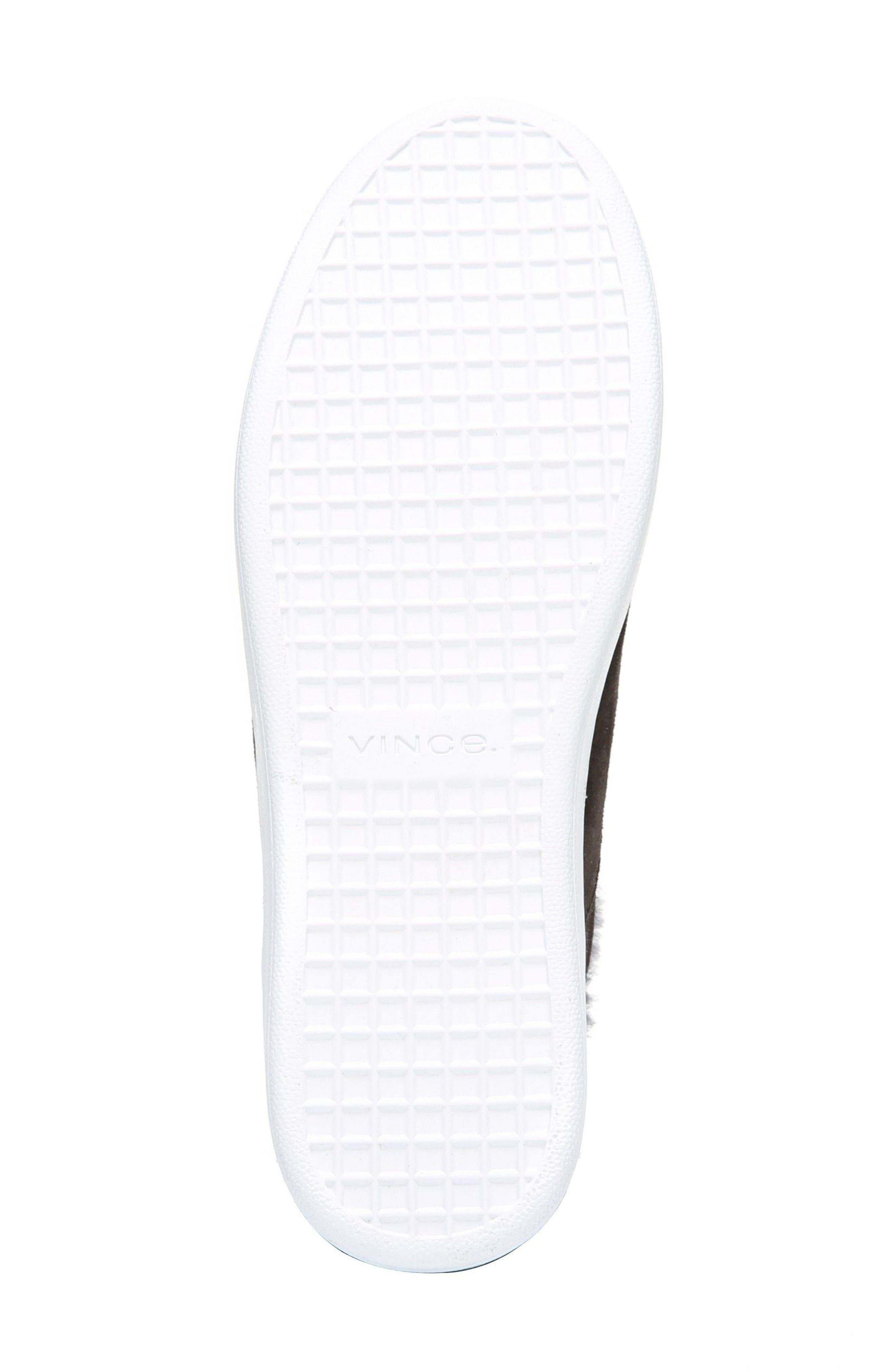 Alternate Image 6  - Vince Verrell Genuine Shearling Slip-On Sneaker (Women)