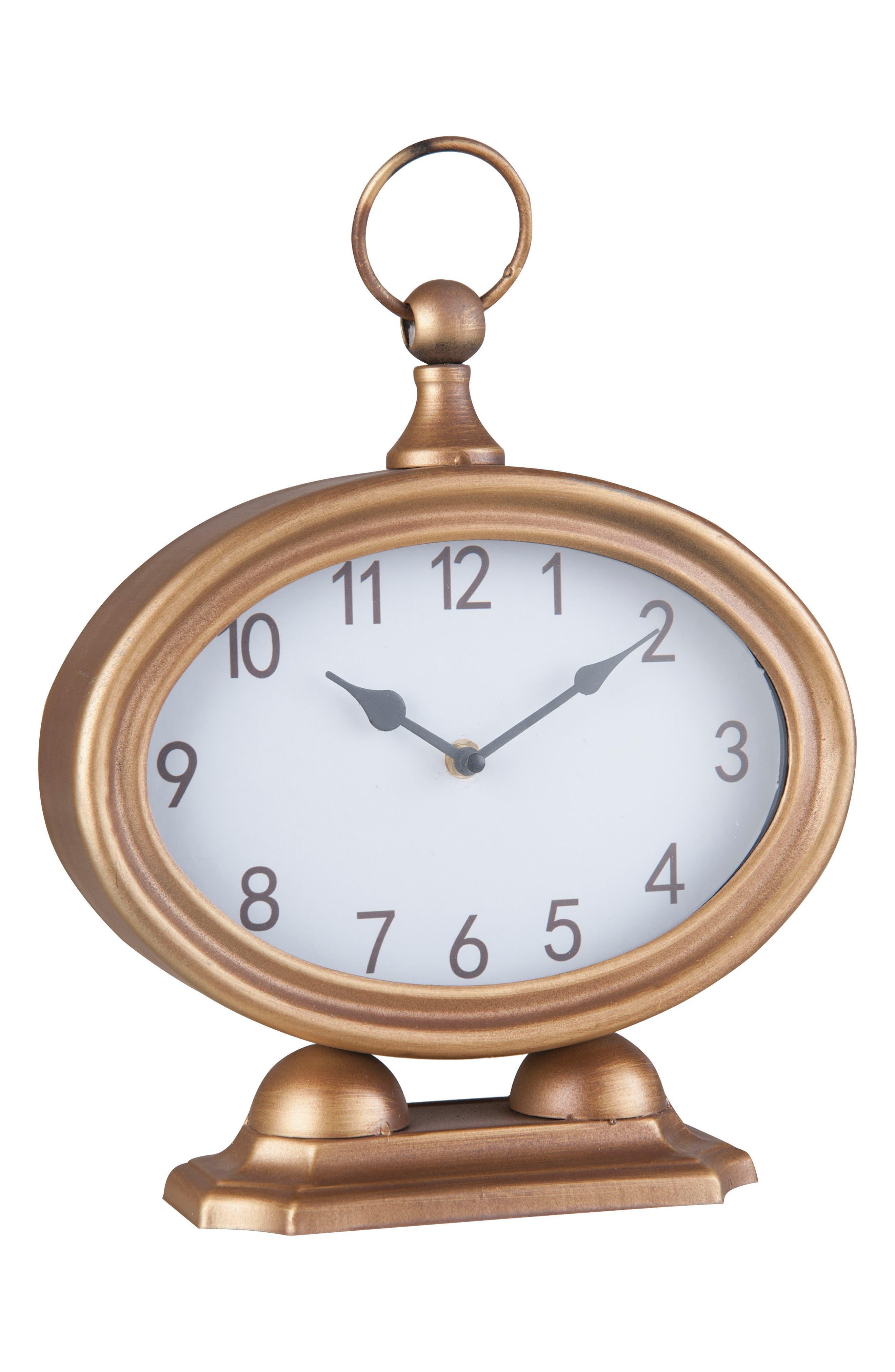 Foreside Sadie Tabletop Clock
