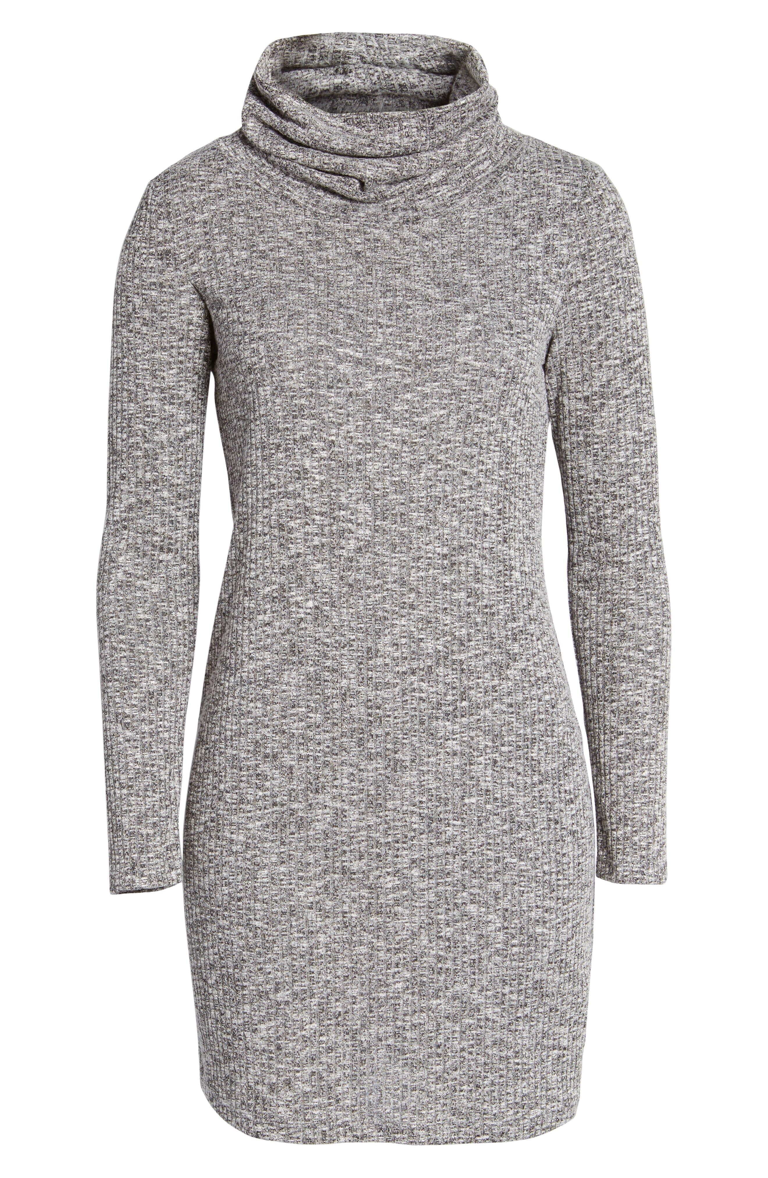 Everly Knit Turtleneck Dress
