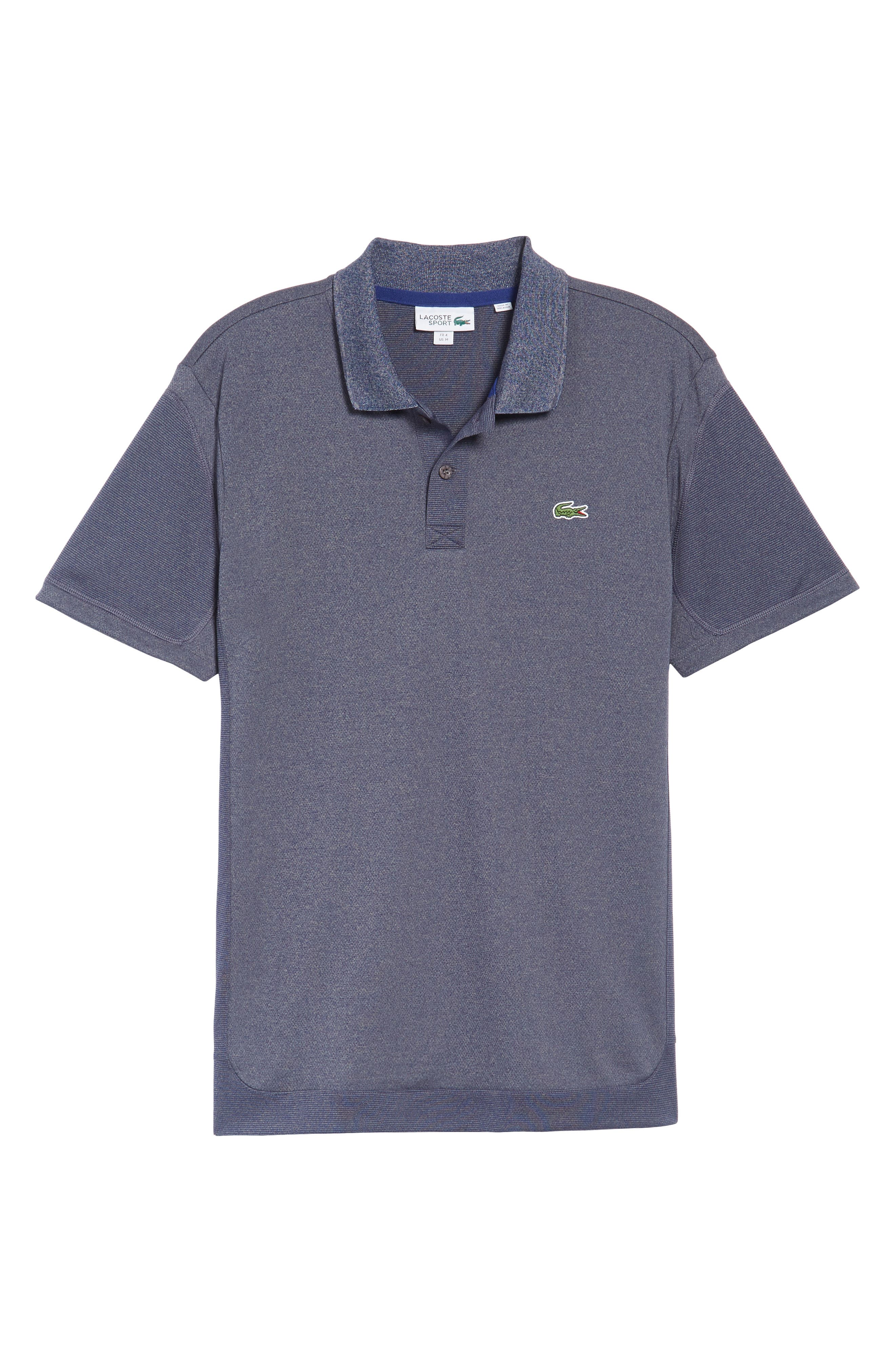 Alternate Image 6  - Lacoste Two-Tone Polo