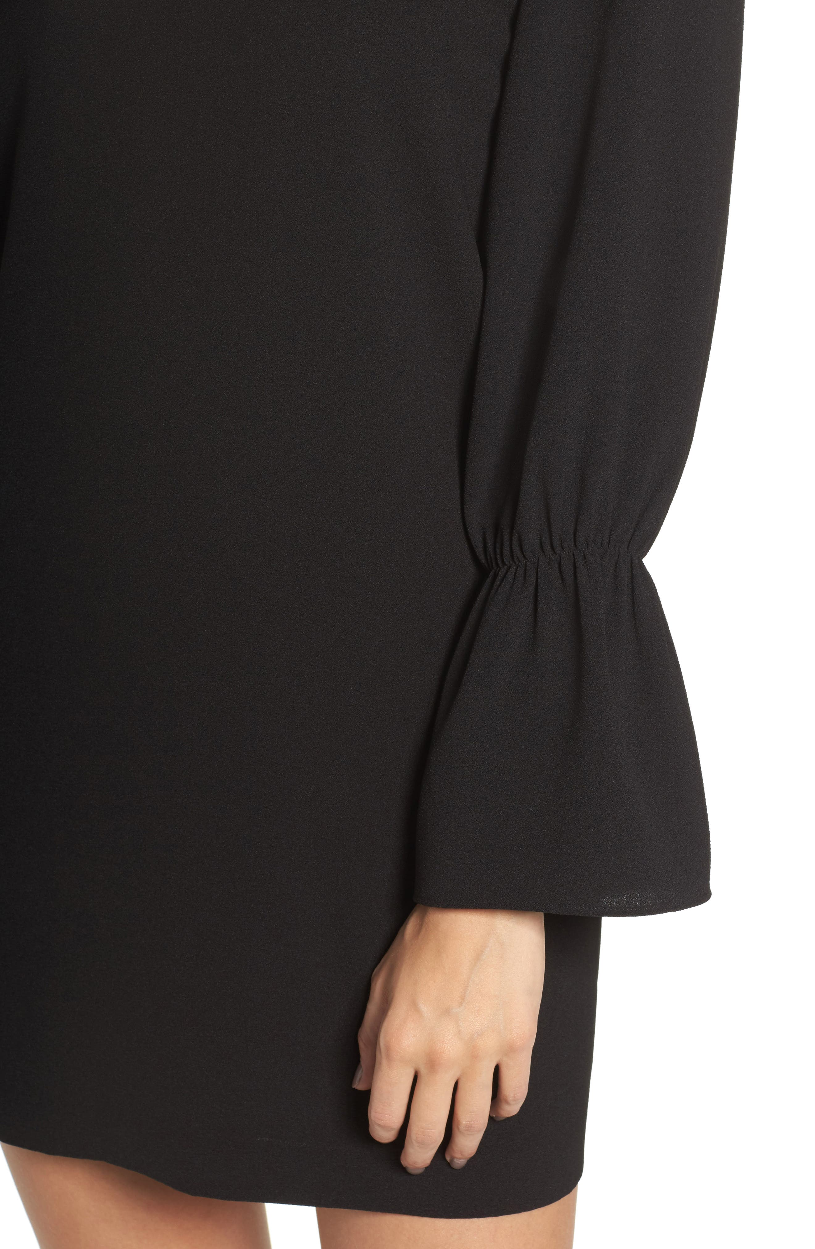 Alternate Image 4  - Felicity & Coco Farrah Cross Back Minidress (Nordstrom Exclusive)