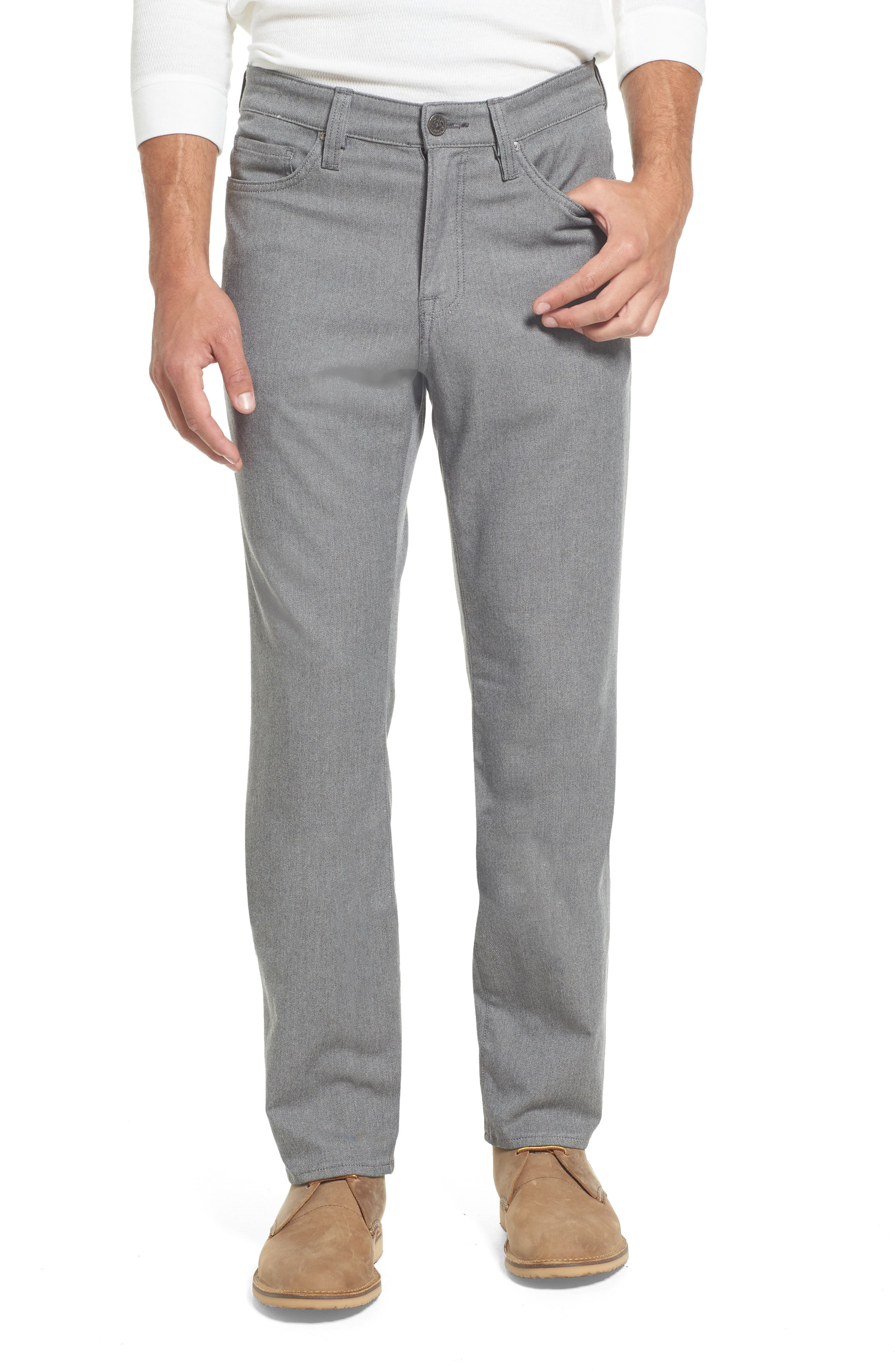 34 Heritage Charisma Relaxed Fit Jeans (Grey Winter Twill)