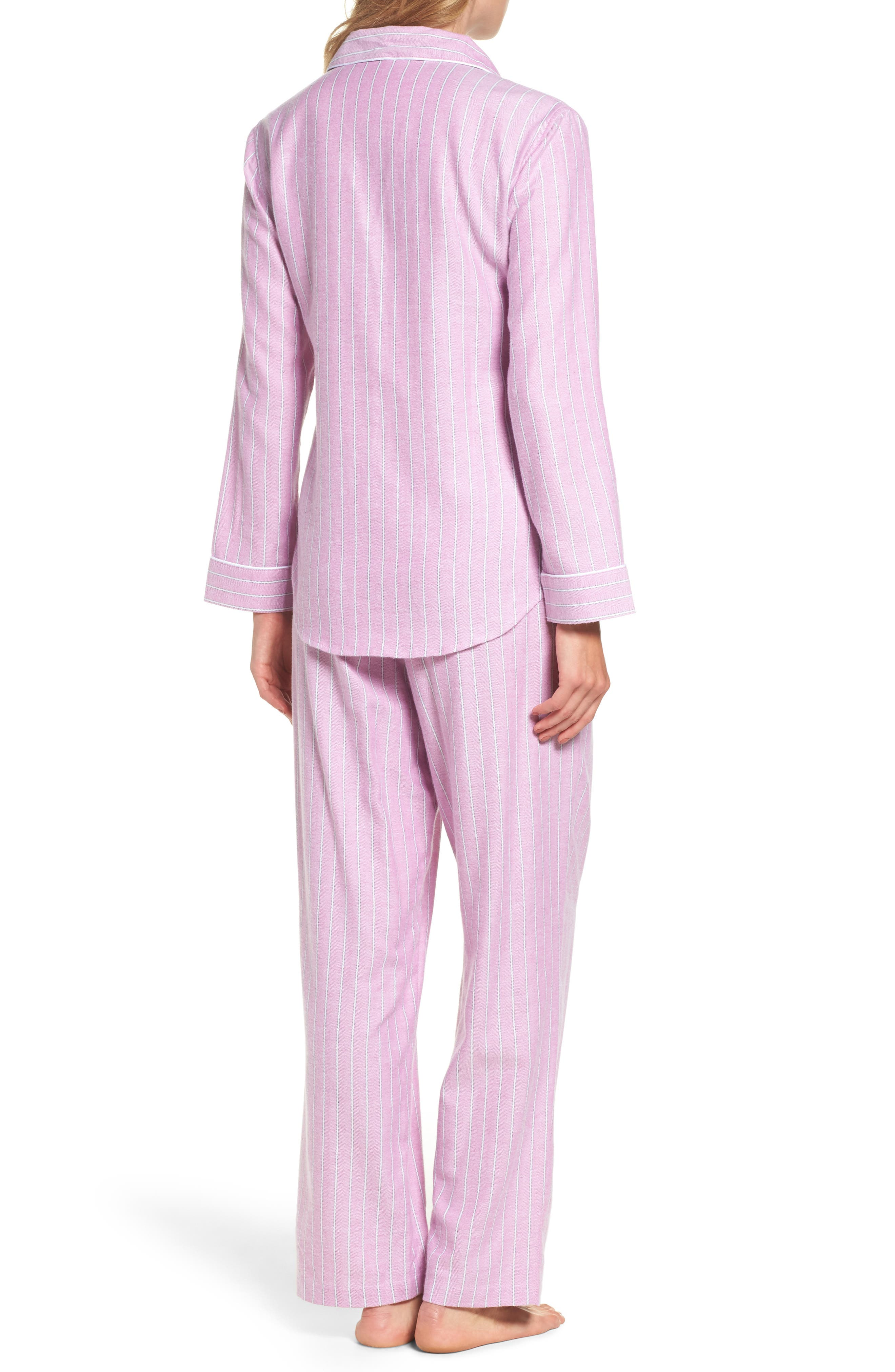 Alternate Image 2  - Lauren Ralph Lauren Long Pajamas