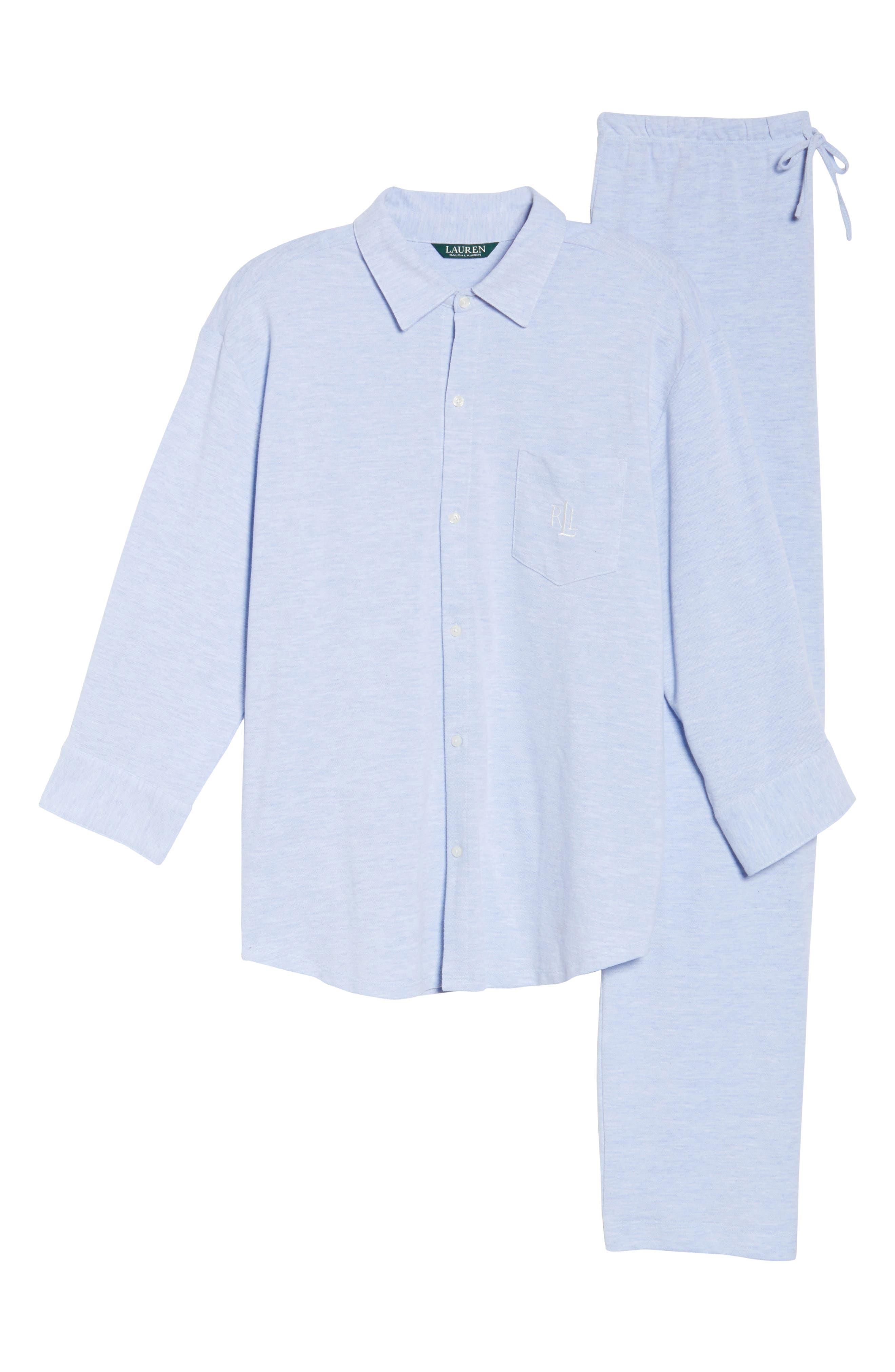 Alternate Image 4  - Lauren Ralph Lauren Long Pajamas
