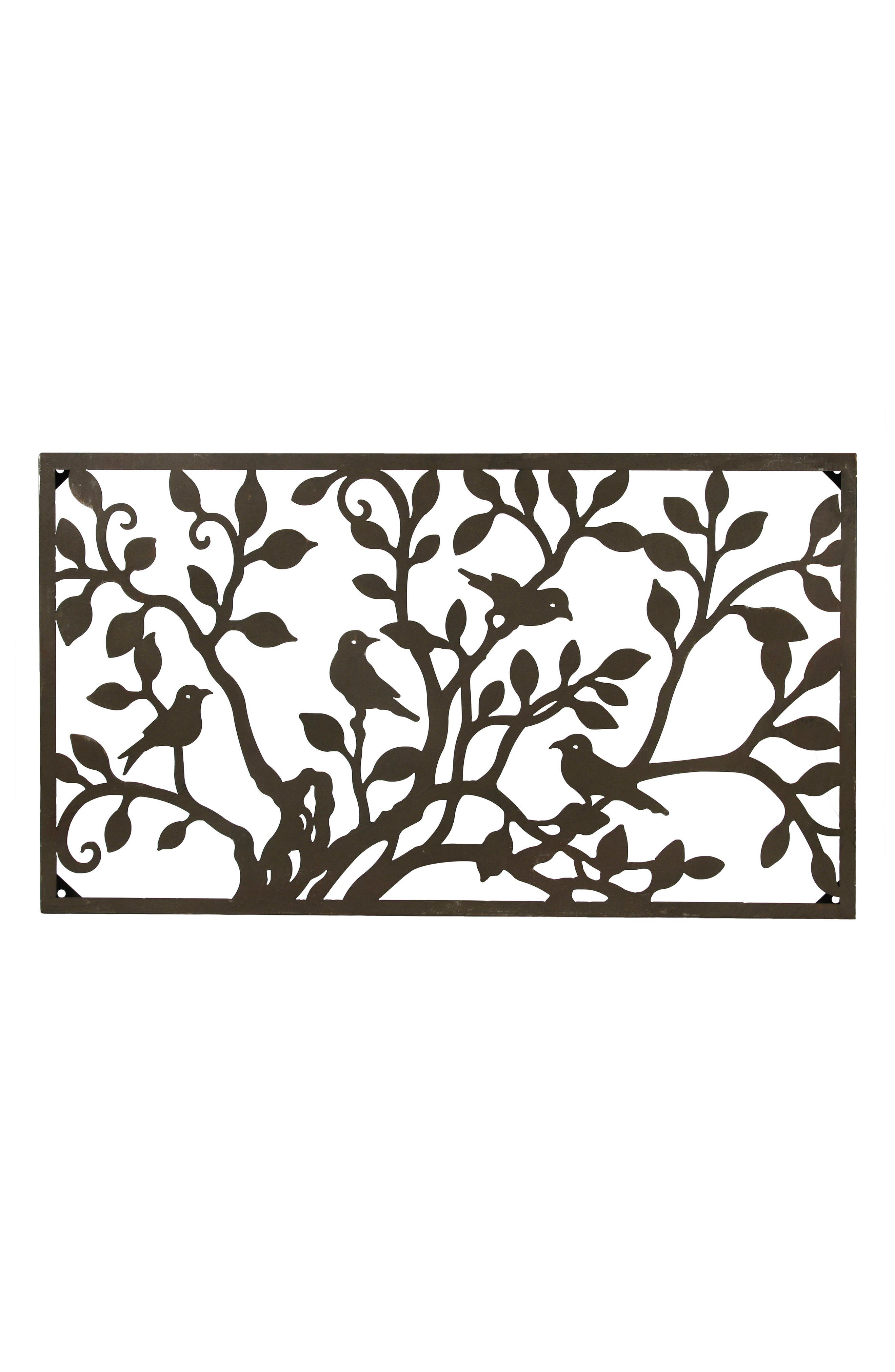 Birds on a Tree Wall Art,                         Main,                         color, Metal