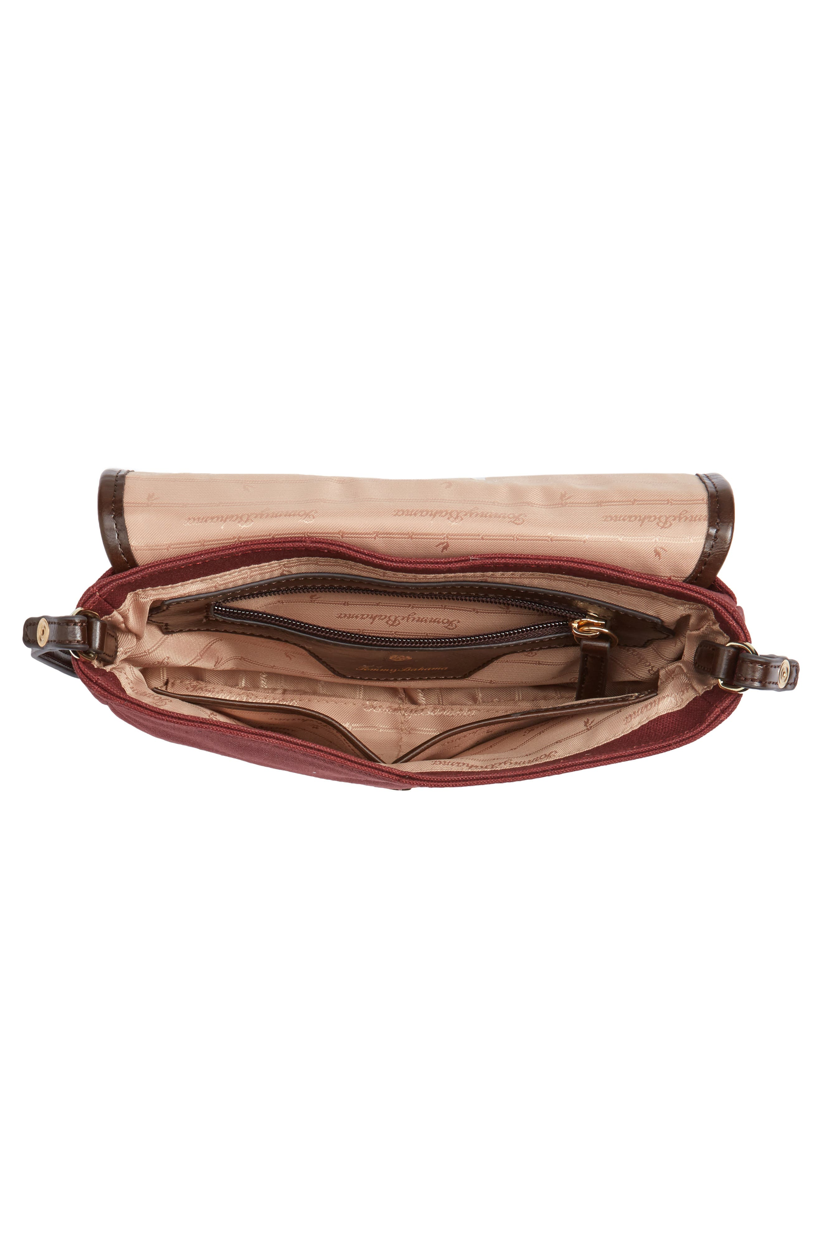 Alternate Image 4  - Tommy Bahama Casbah Convertible Canvas Crossbody Bag