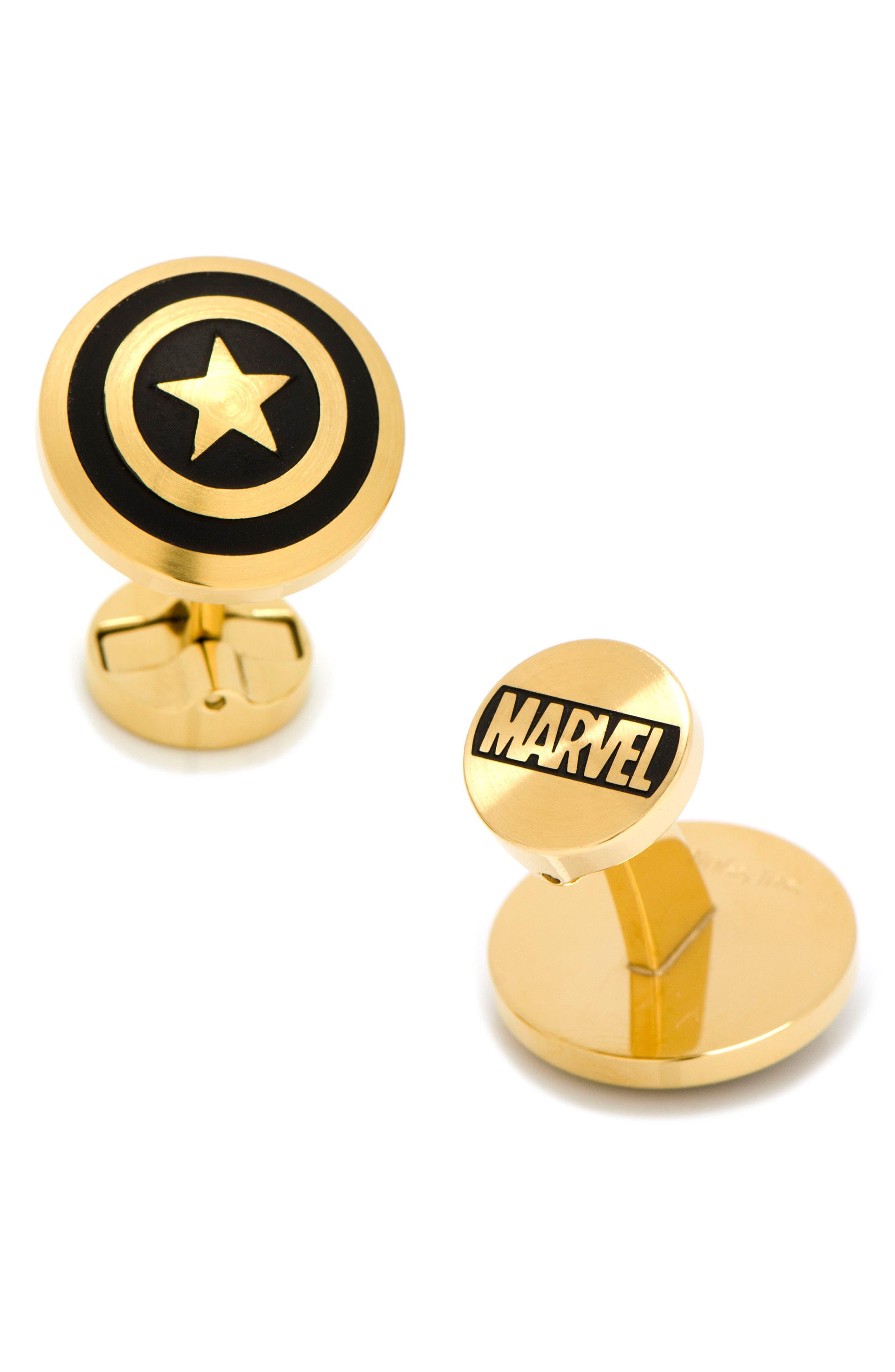 Main Image - Cufflinks, Inc. Marvel Comics Captain America Cuff Links