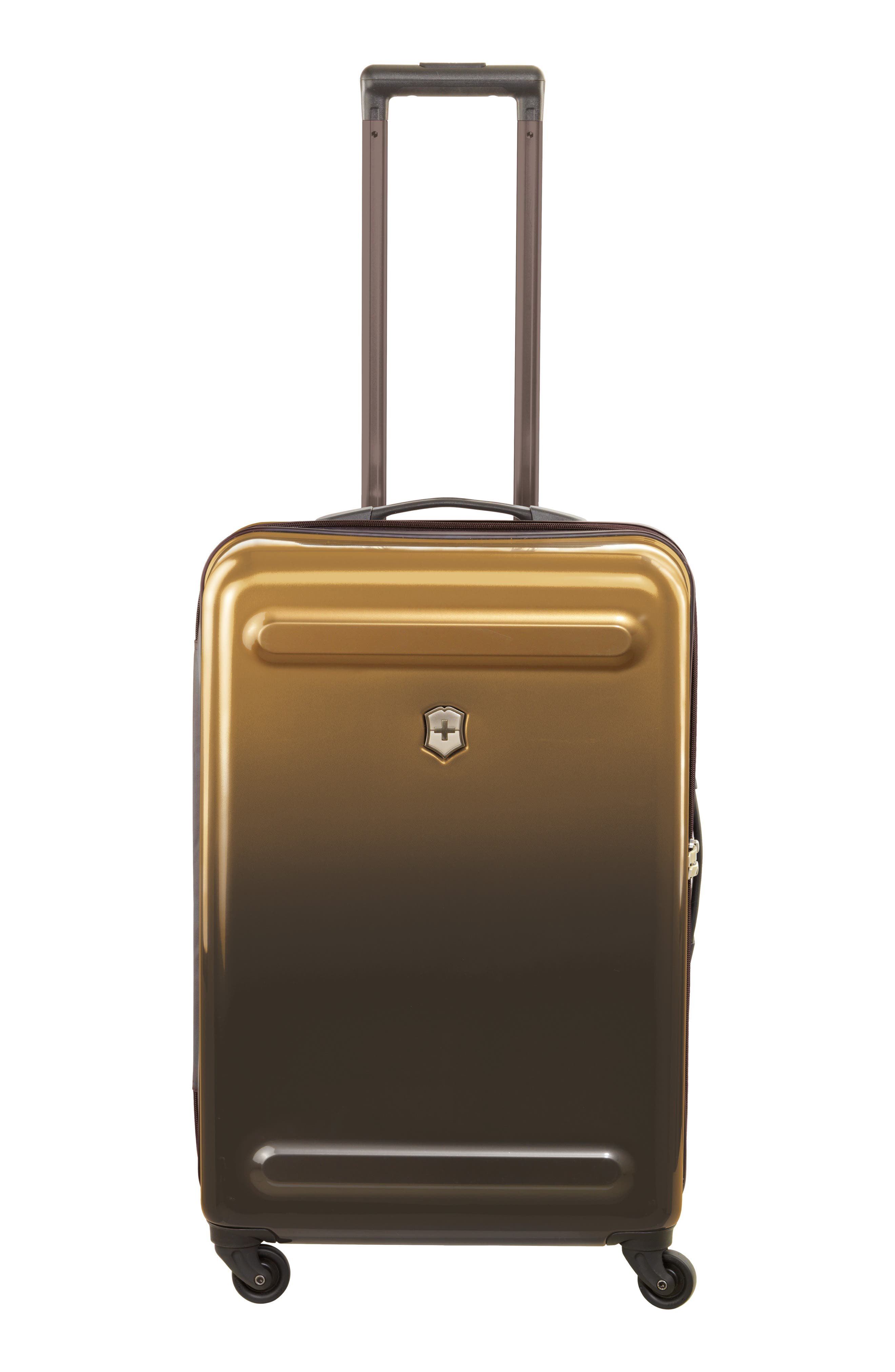 Etherius 26-Inch Wheeled Suitcase,                             Alternate thumbnail 4, color,                             Bronze