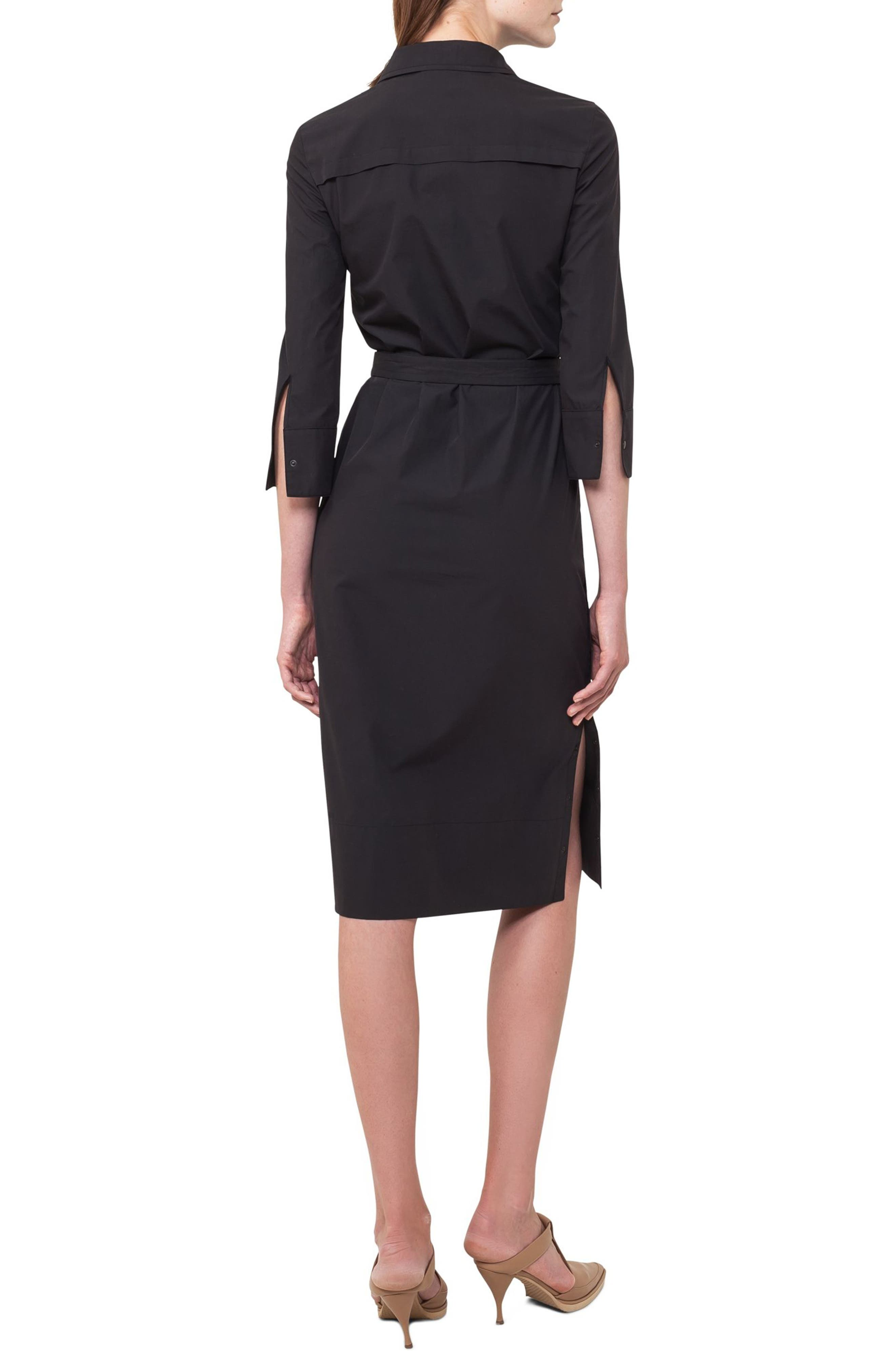 Alternate Image 2  - Akris punto Cotton Shirtdress