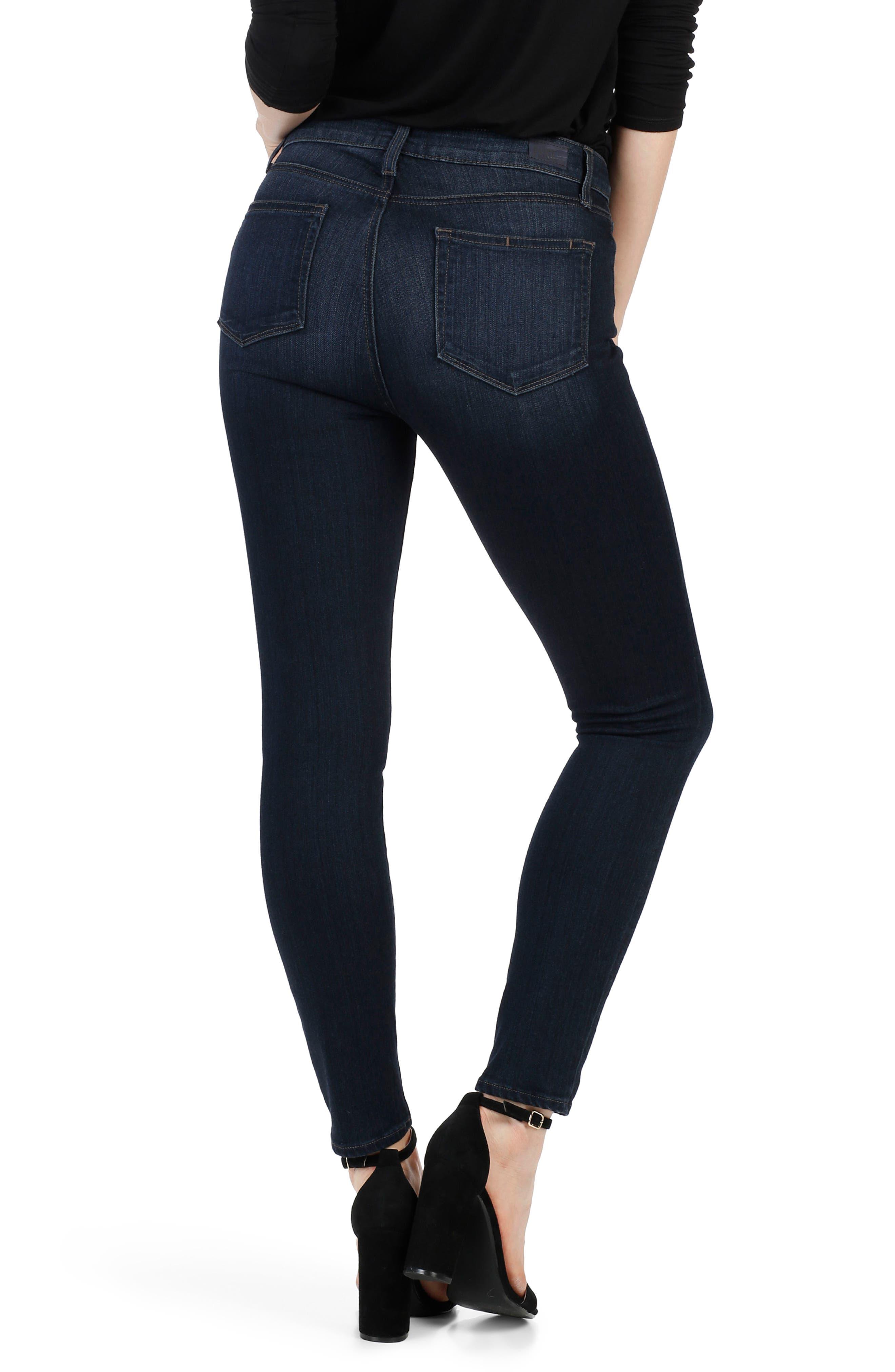 Transcend - Verdugo Ankle Skinny Jeans,                             Alternate thumbnail 2, color,                             Elsie