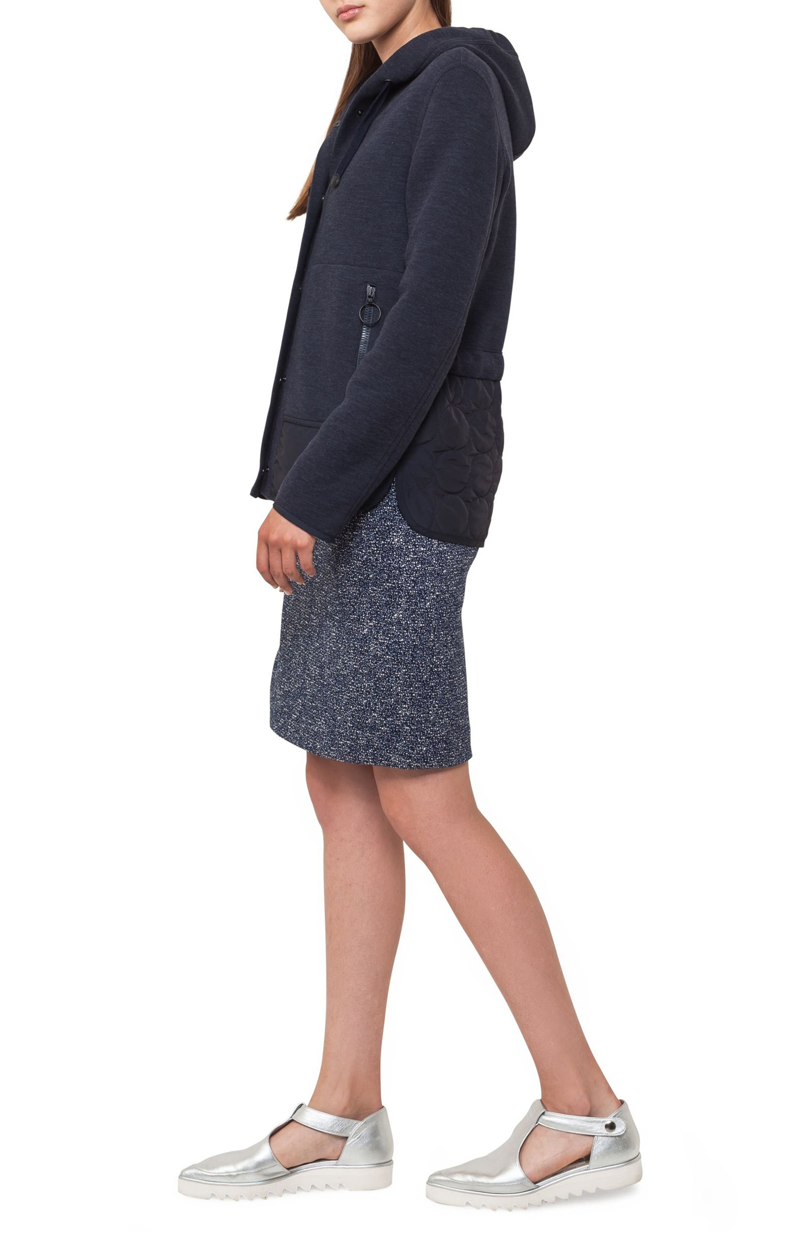 Alternate Image 3  - Akris punto Jacquard Miniskirt