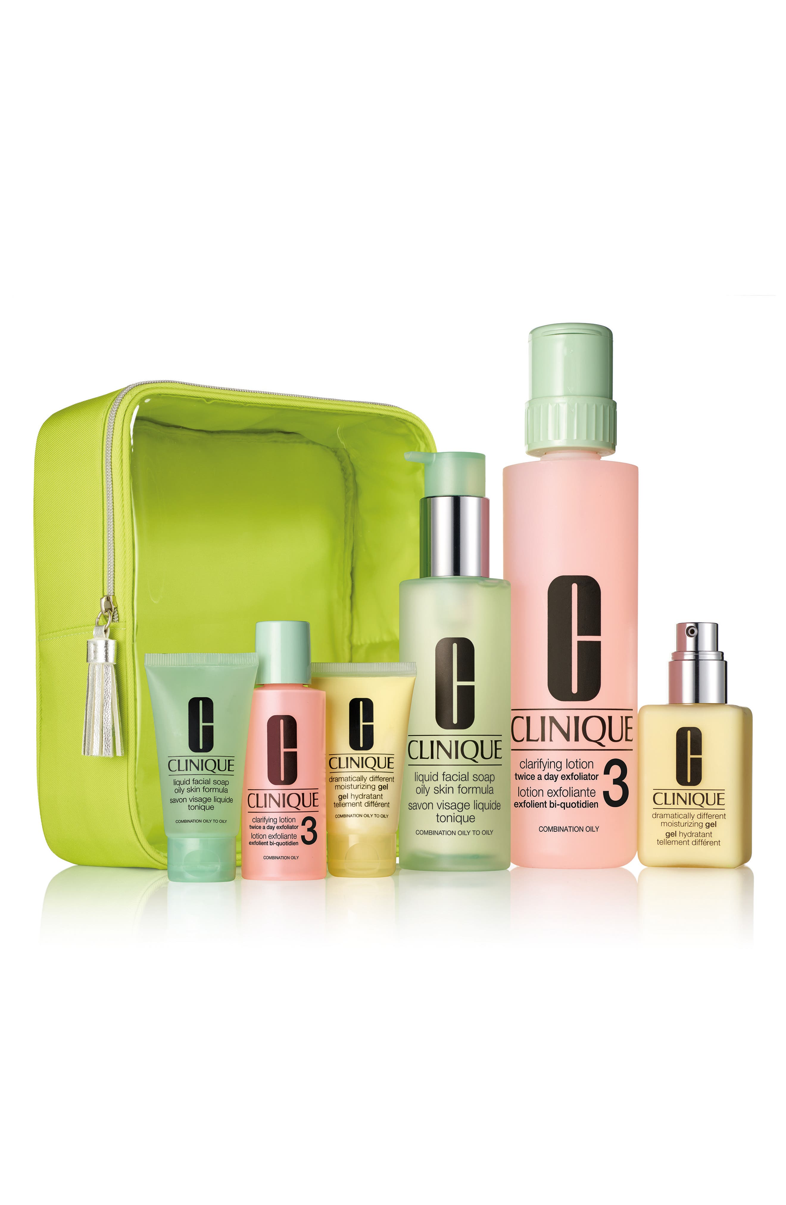 Clinique Great Skin Home & Away Set for Skin Types III & IV ($92 Value)