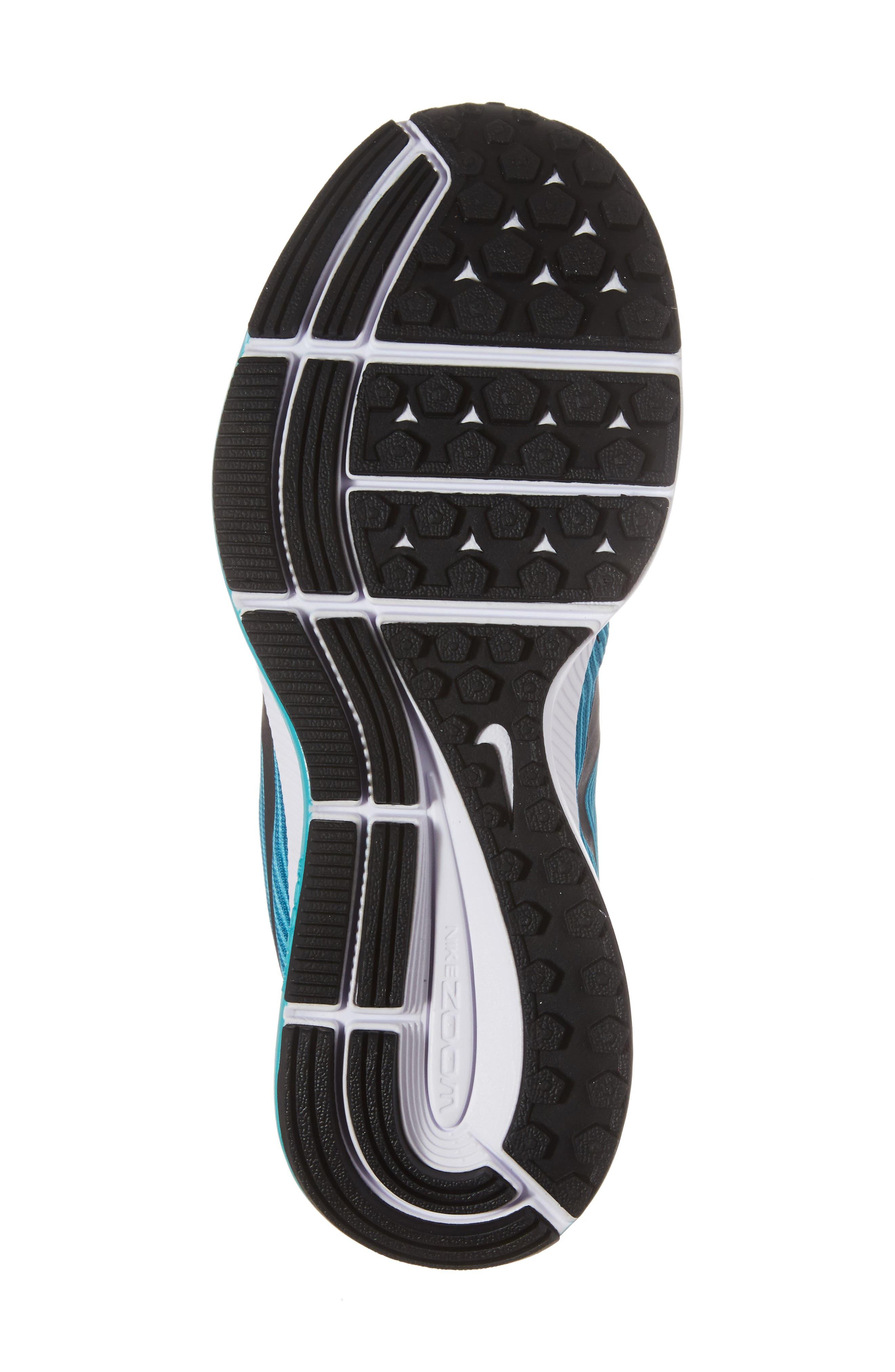 Alternate Image 6  - Nike Zoom Pegasus 34 Sneaker (Little Kid & Big Kid)